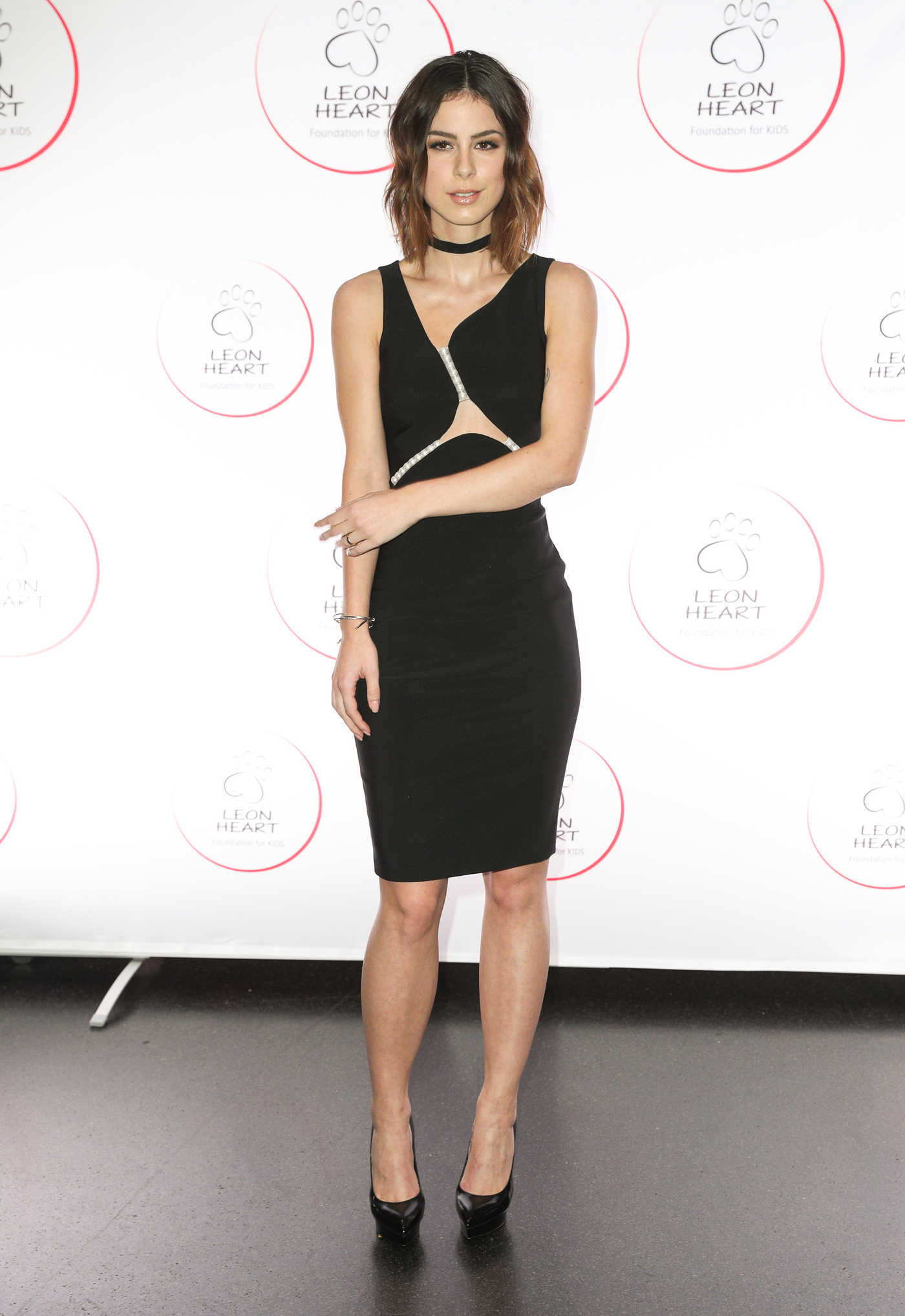 Lena Meyer-Landrut Was Seen at the Leon Heart Foundation Charity Dinner in Berlin 10/28/2016