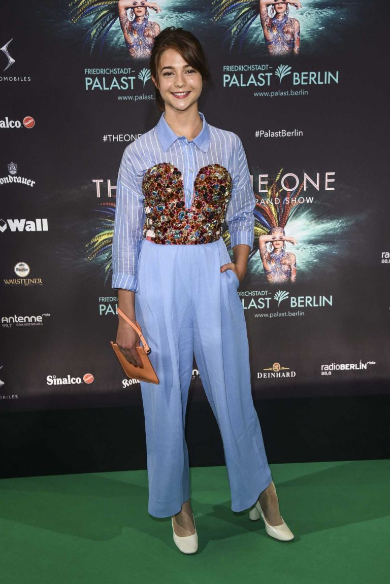 Lisa-Marie Koroll at the One Grand Show Premiere in Berlin 10/06/2016-1