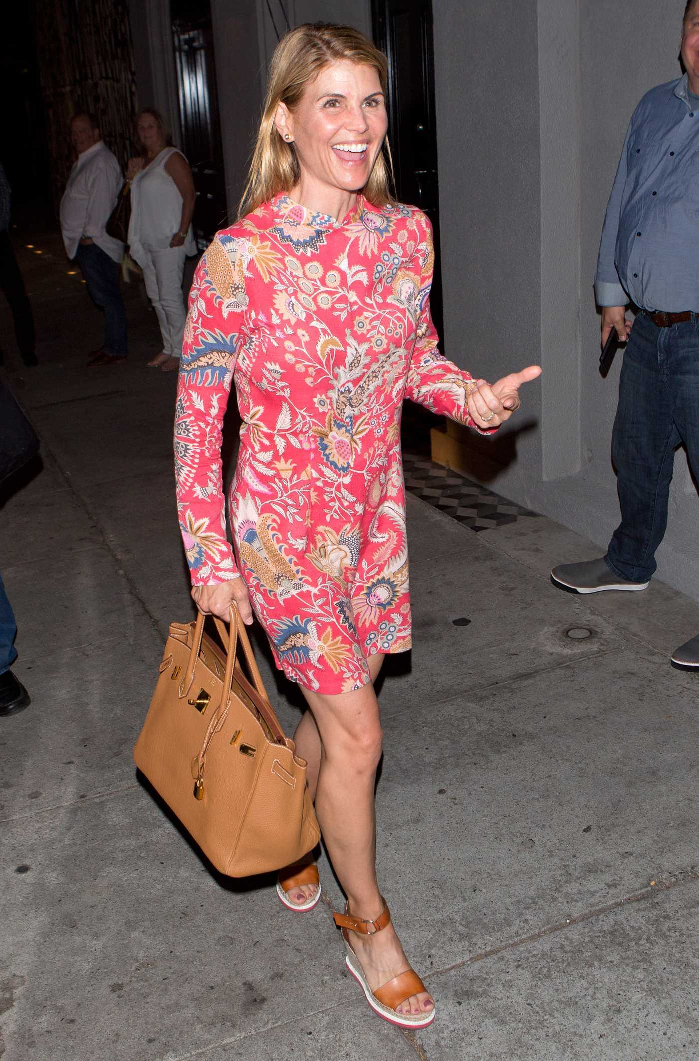 Lori Loughlin Leaves the Craigs Restaurant in West Hollywood 09/30/2016