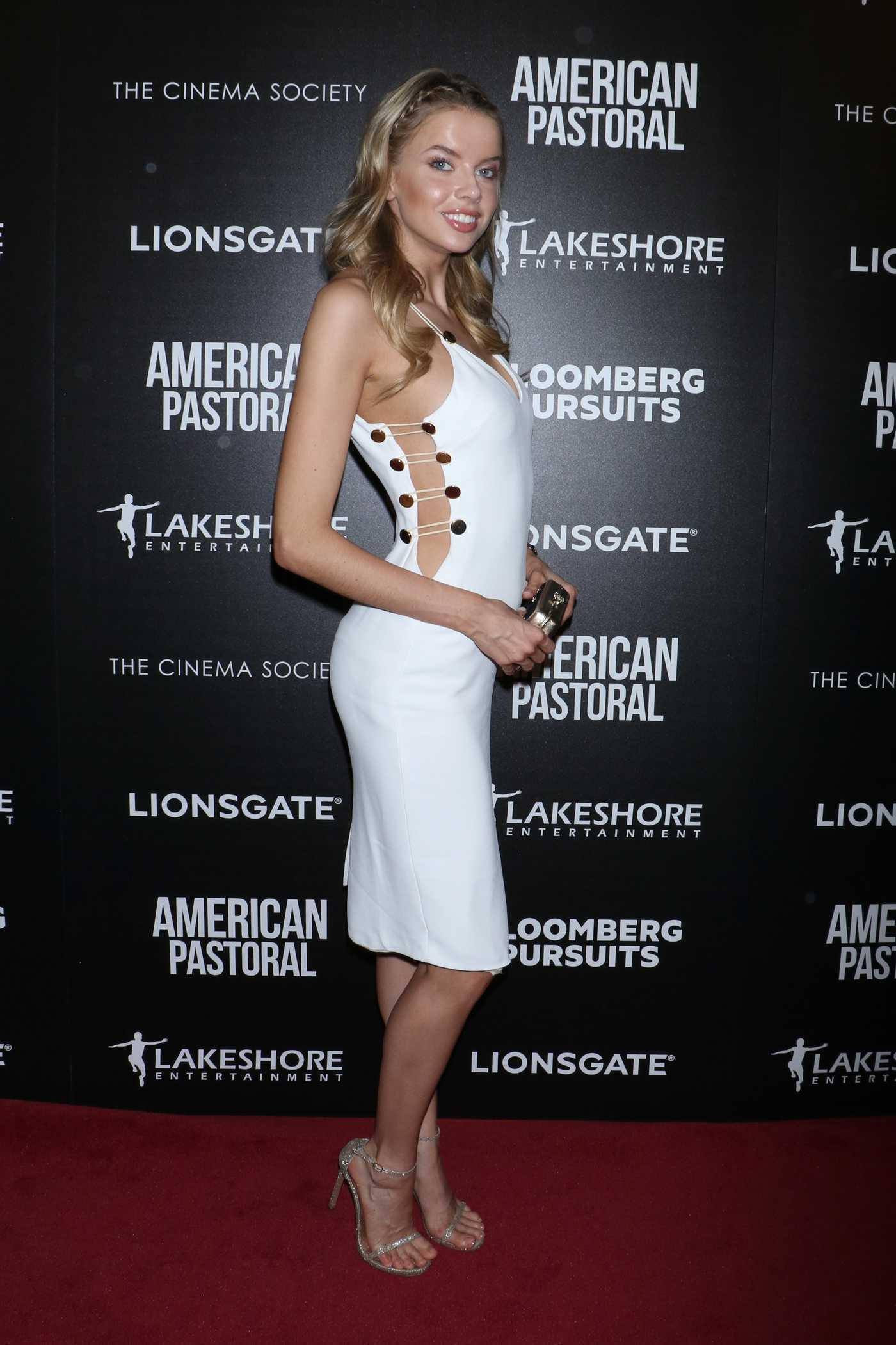 Louisa Warwick at the American Pastoral Screening at Museum of Modern Art in NY 10/19/2016