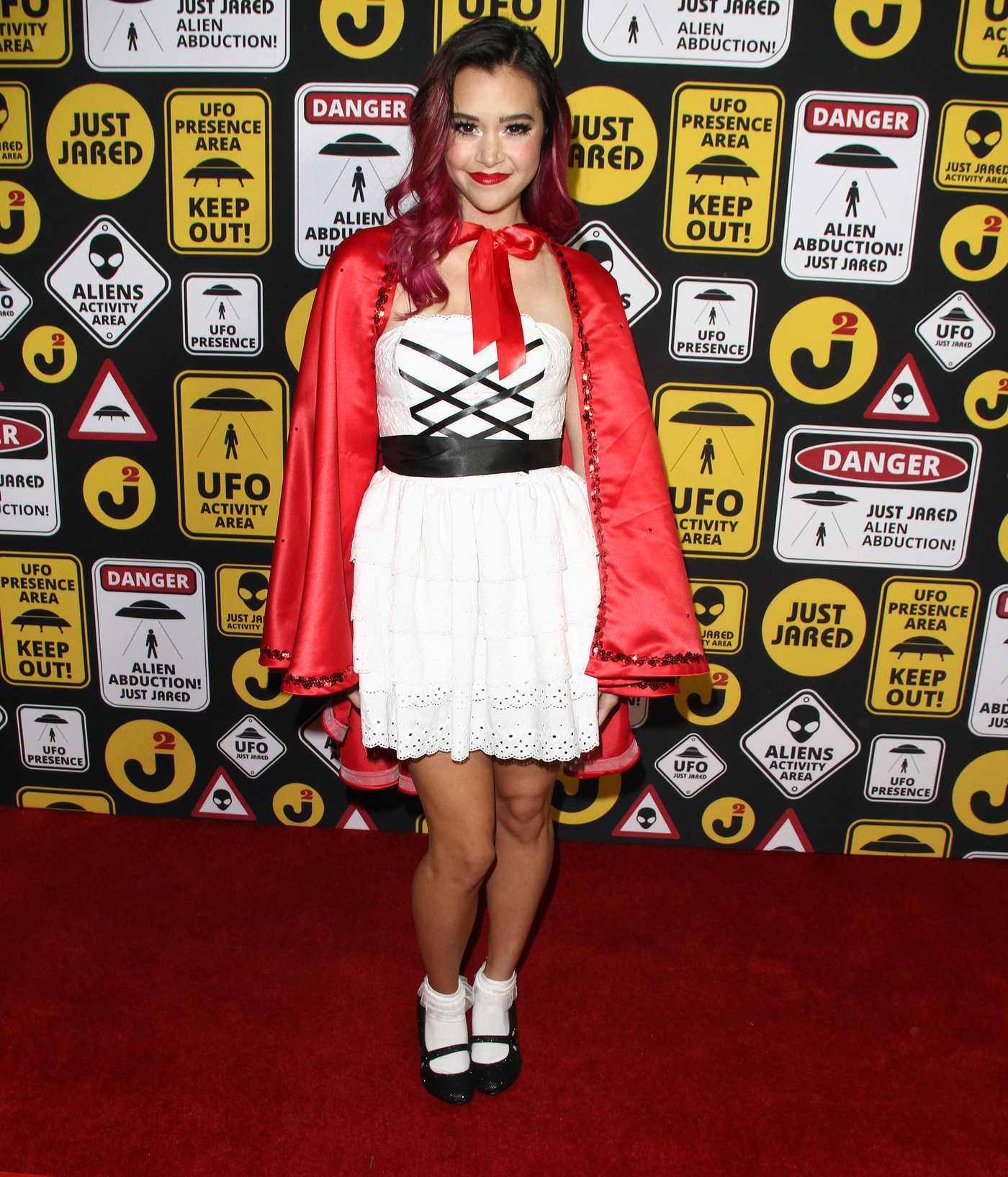 Megan Nicole at the Just Jared Annual Halloween Party in Los Angeles 10/30/2016
