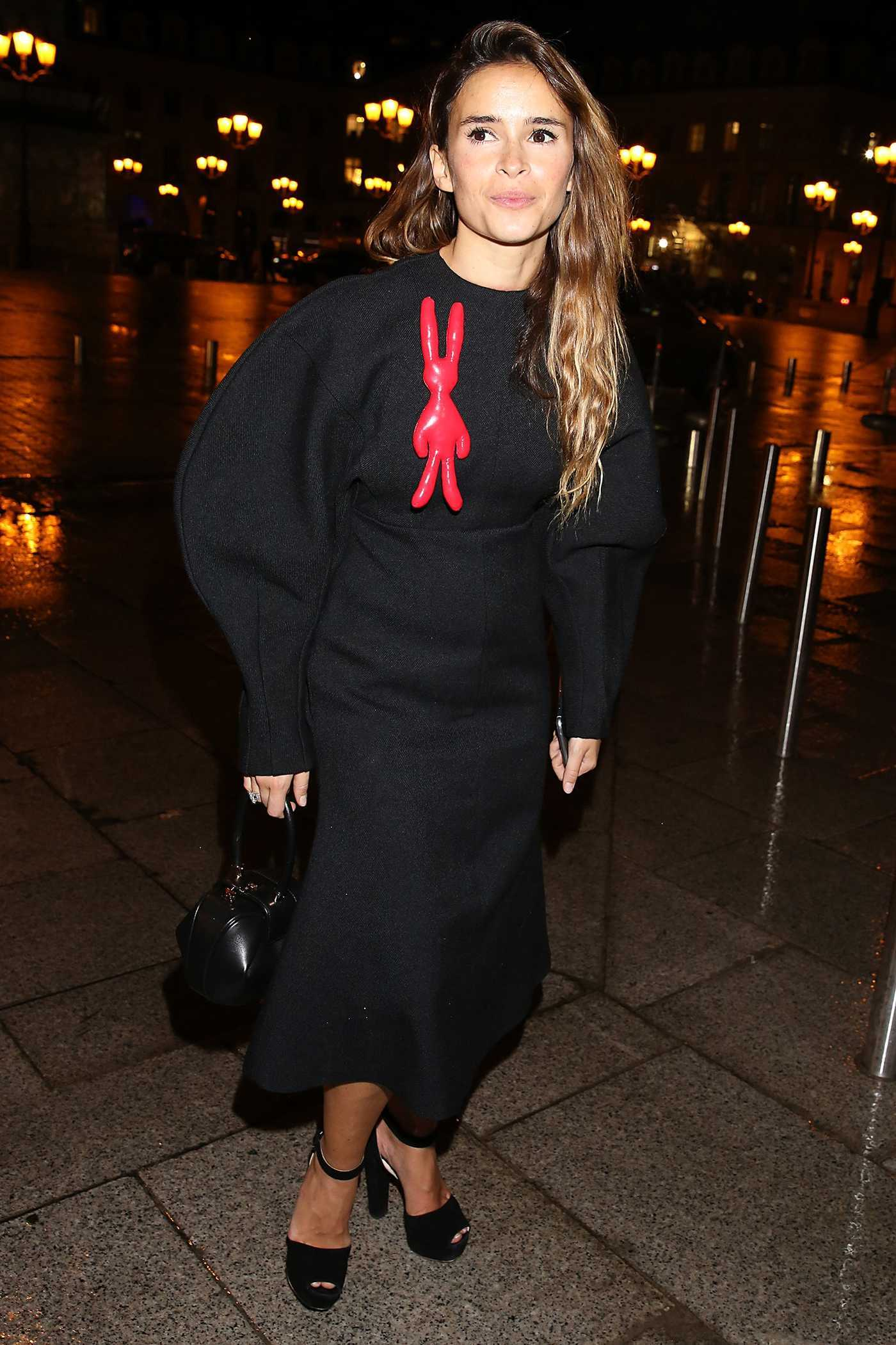 Miroslava Duma Leaves the Ritz Hotel in Paris 09/30/2016
