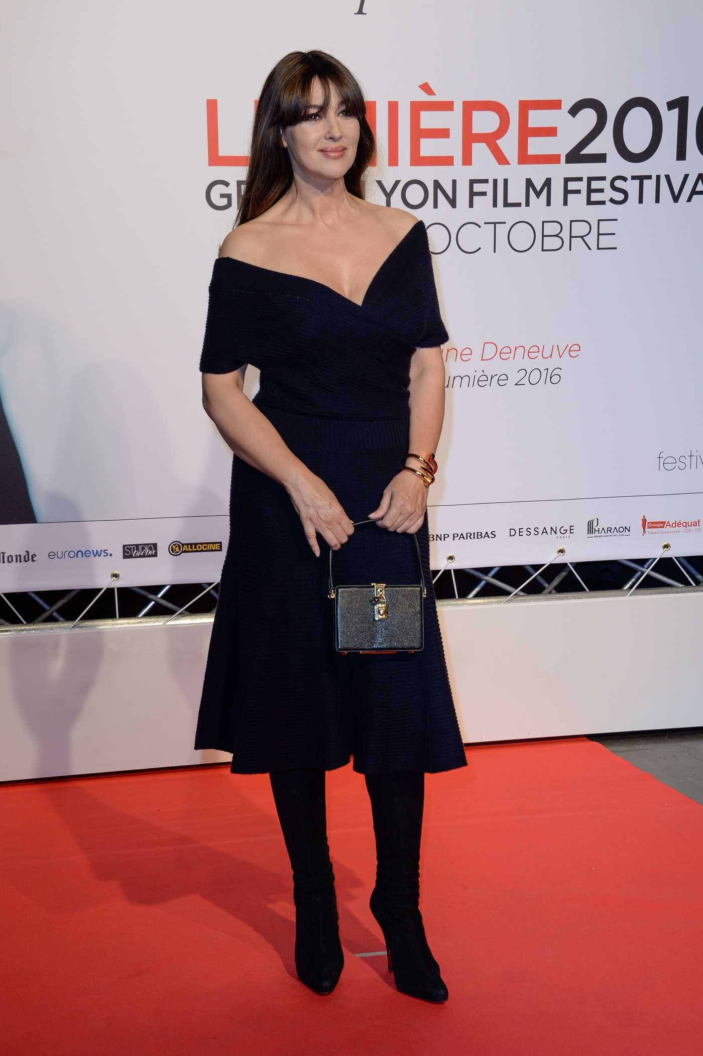 Monica Bellucci at the 8th Lumiere Festival Opening in Lyon 10/08/2016