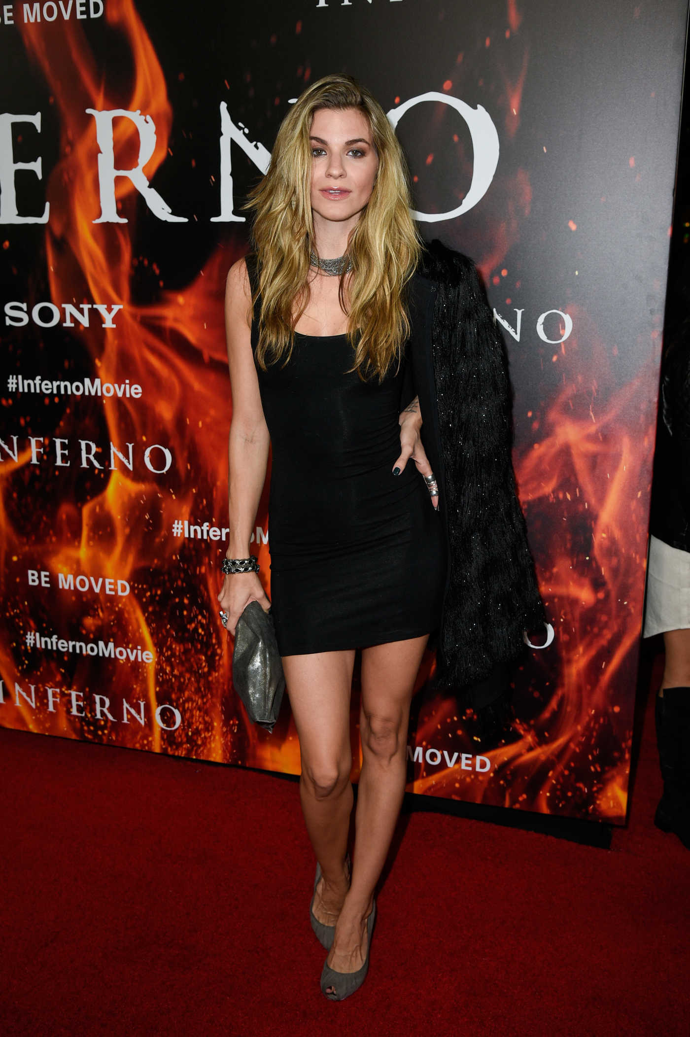 Rachel McCord at Inferno Premiere in Hollywood 10/25/2016