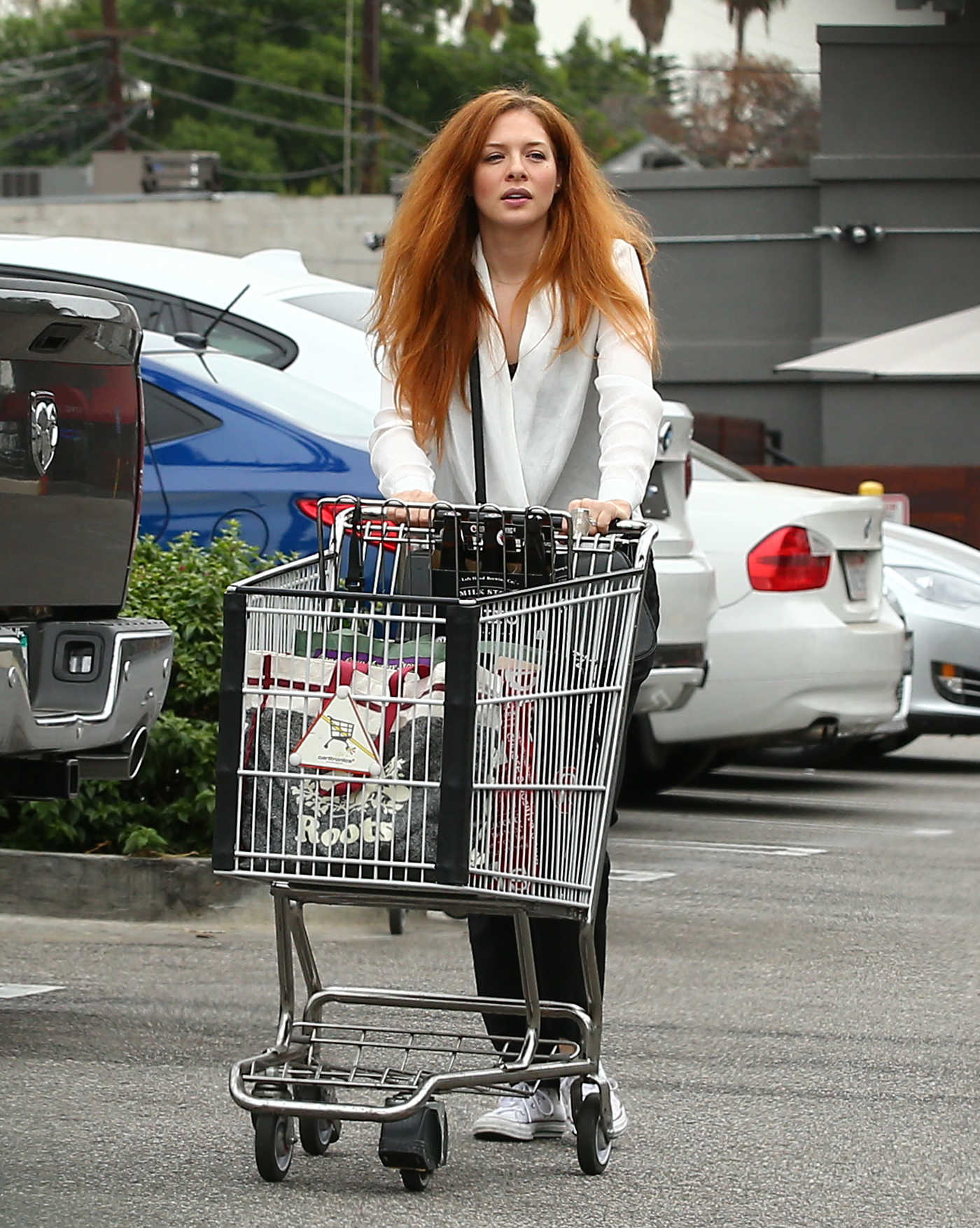 Rachelle Lefevre Goes Shopping Out in LA 10/27/2016