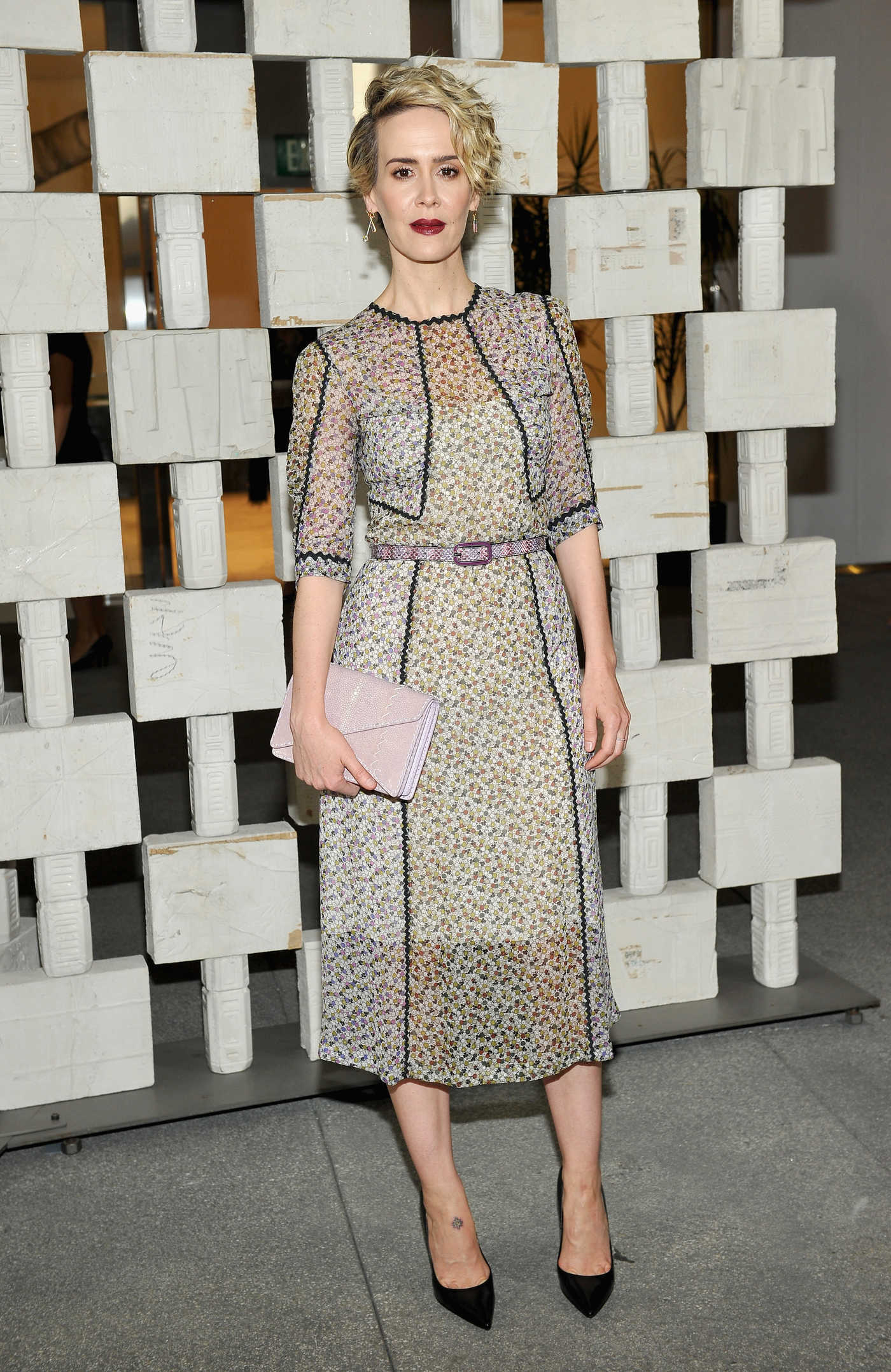 Sarah Paulson at the Hammer Museum 14th Annual Gala in Westwood 10/08/2016