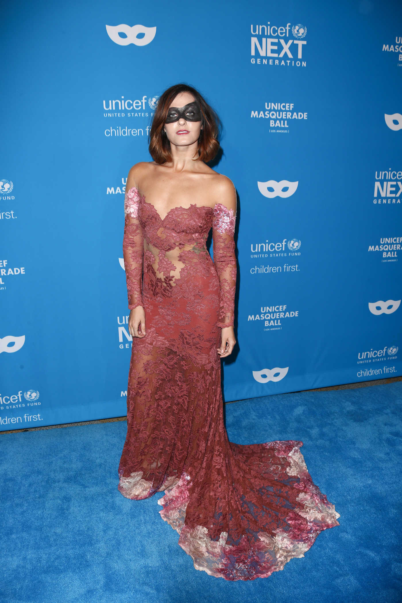 Scout Taylor-Compton at the 2016 UNICEF Masquerade Ball in Los Angeles 10/27/2016