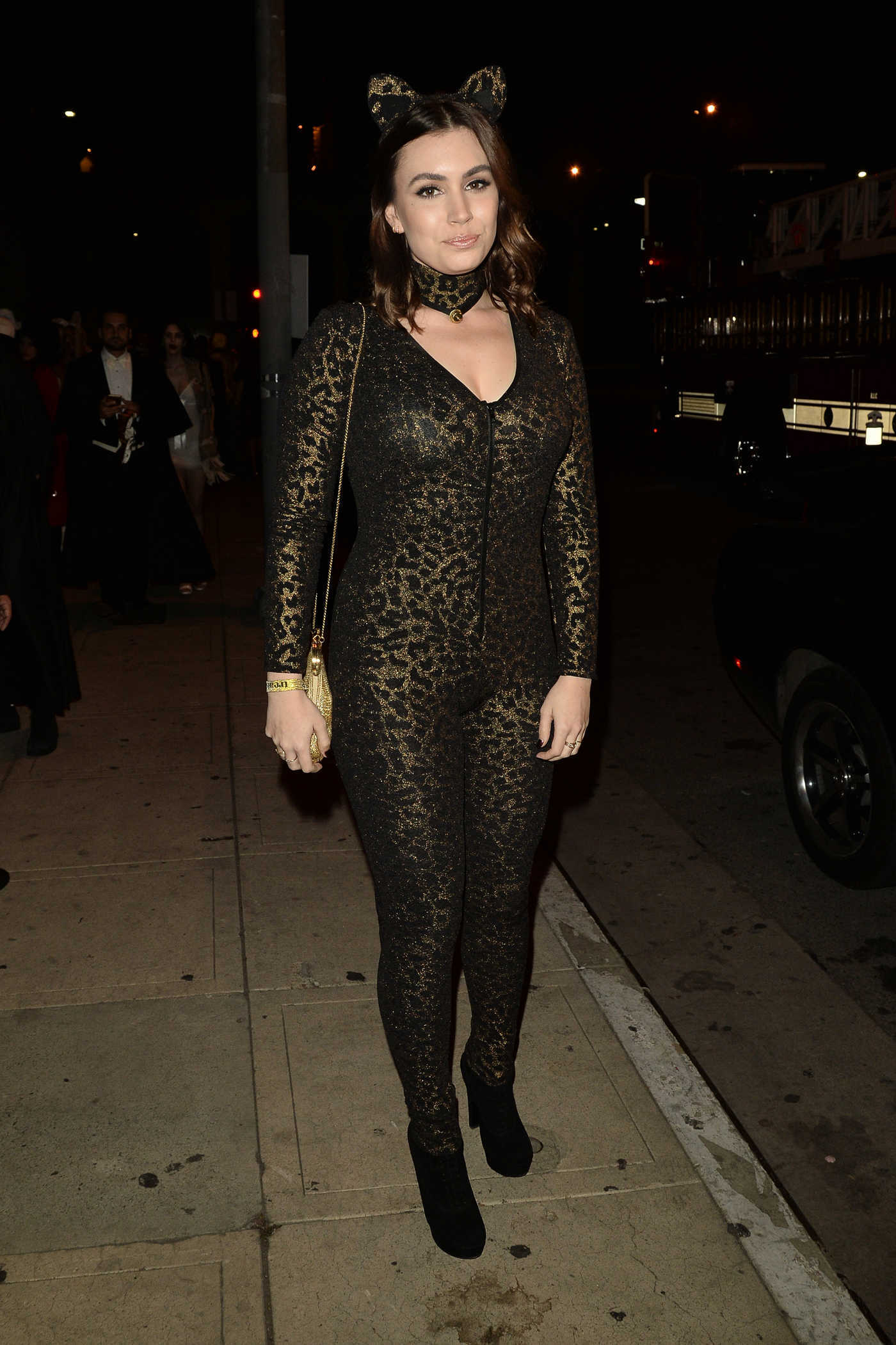 Sophie Simmons at the 6th Annual Treats Magazine Halloween Party in Los Angeles 10/29/2016