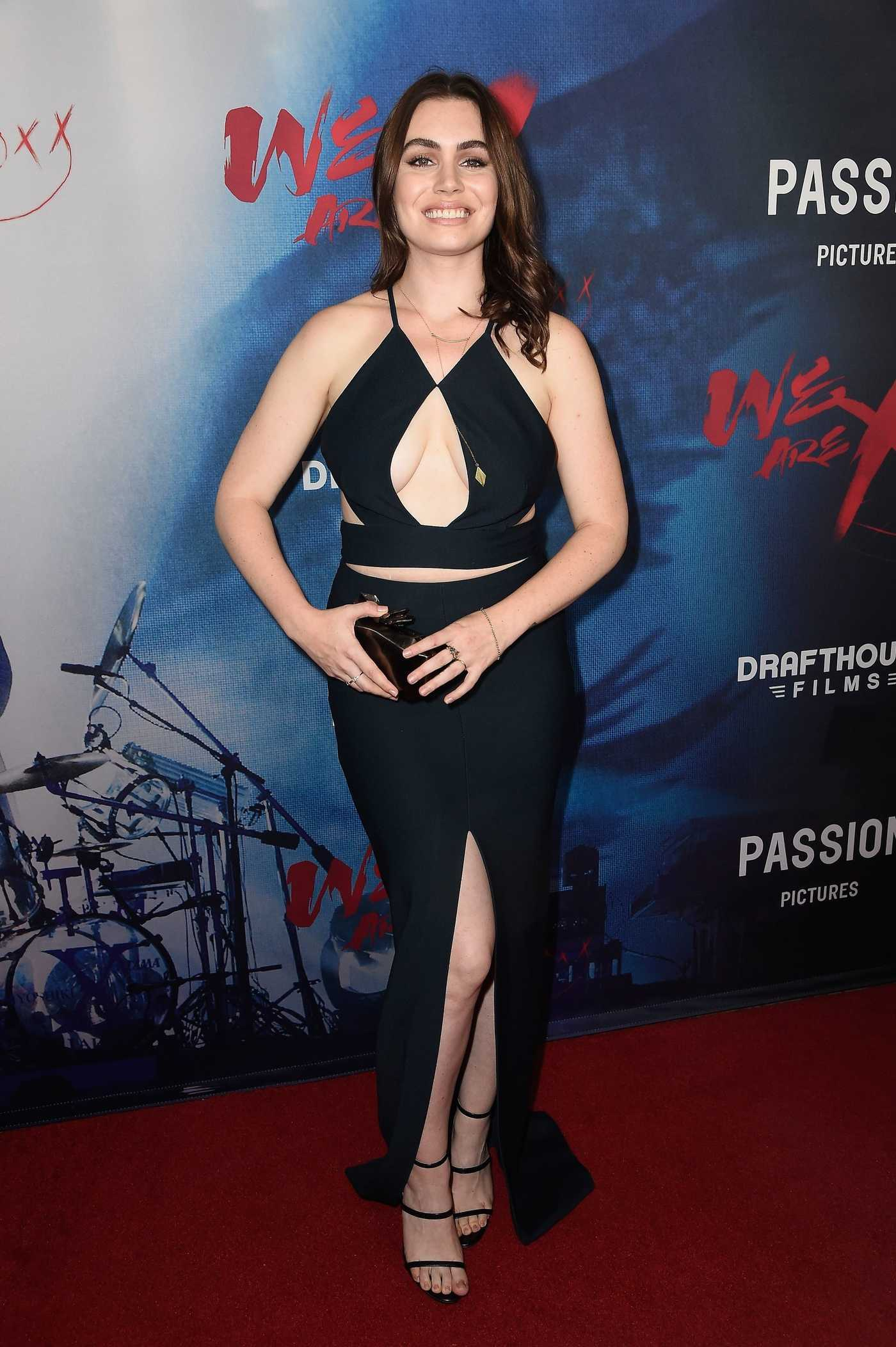 Sophie Simmons at the We are X Premiere in Hollywood 10/03/2016