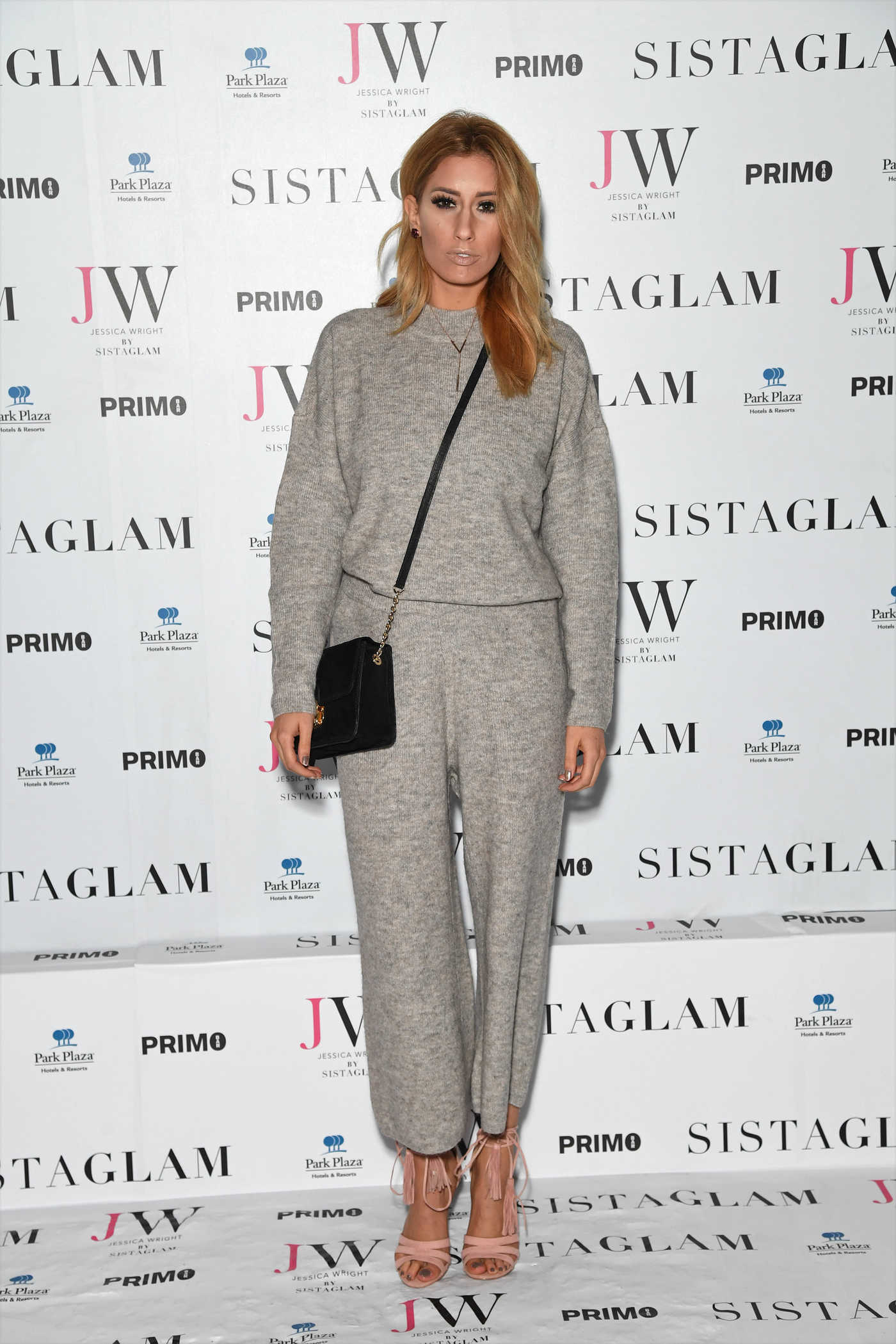 Stacey Solomon at the Sistaglam Launch Party in London 10/26/2016