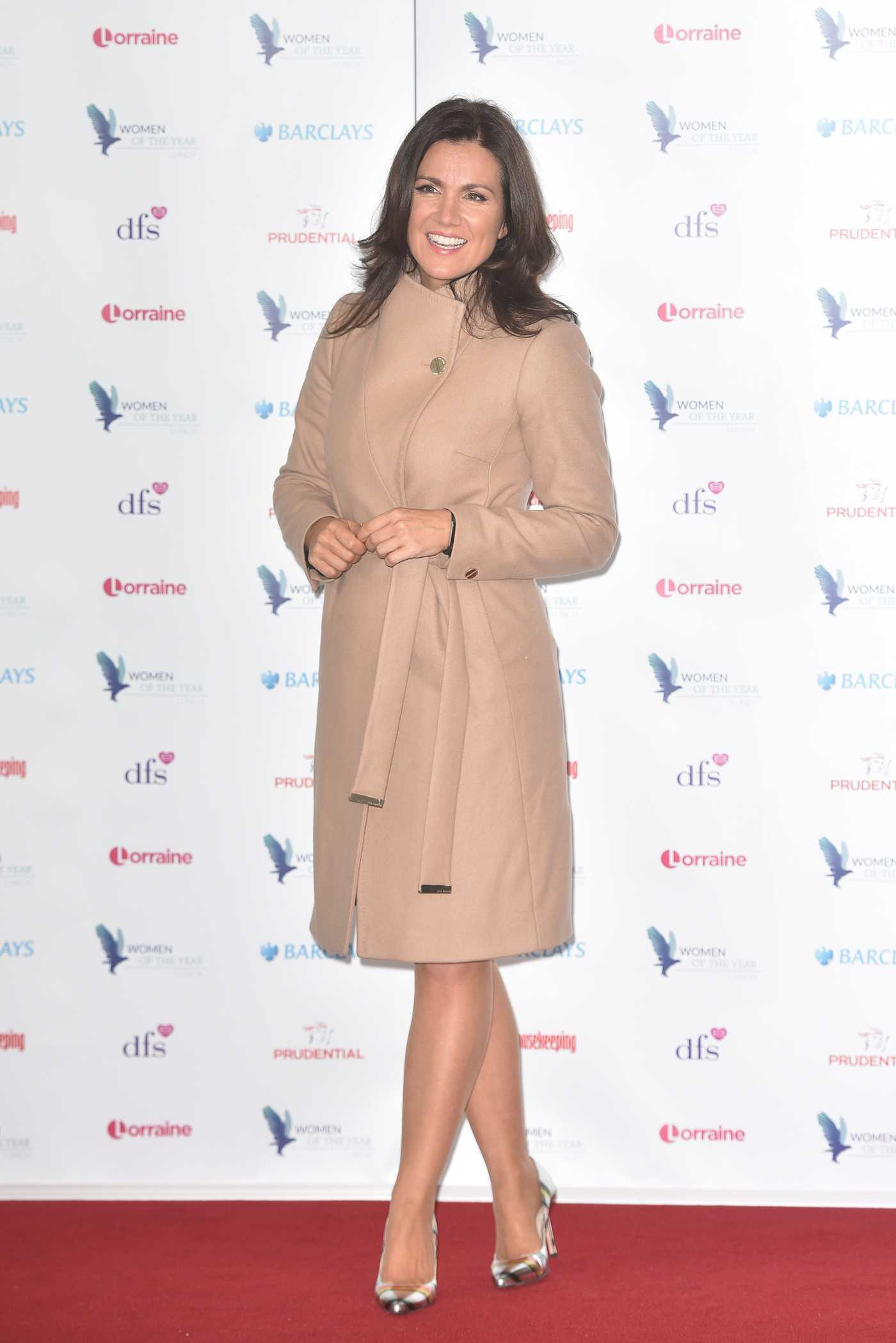 Susanna Reid at the Red Women of the Year Awards at Royal Festival Hall in London 10/17/2016