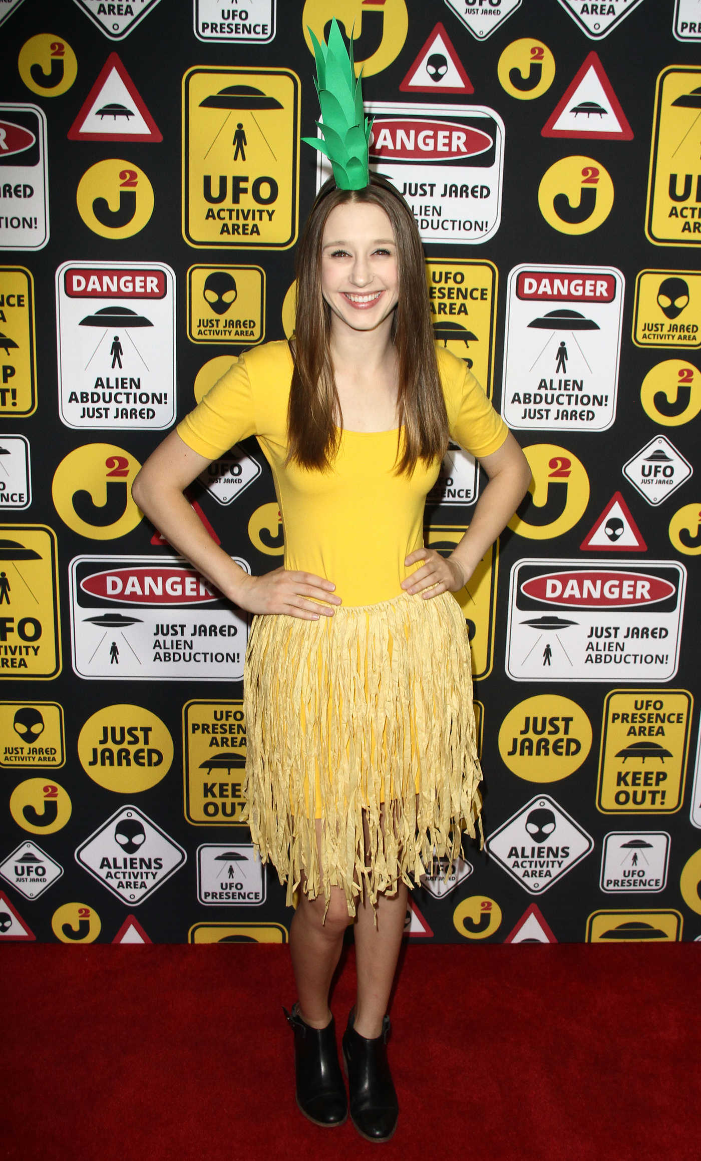 Taissa Farmiga at the Just Jared Annual Halloween Party in Los Angeles 10/30/2016