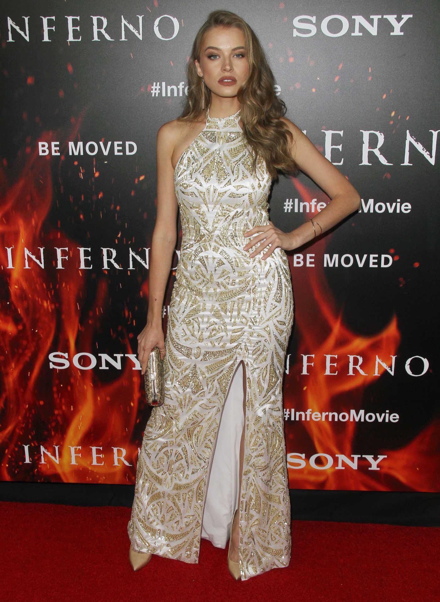 Tanya Mityushina at Inferno Premiere in Hollywood 10/25/2016