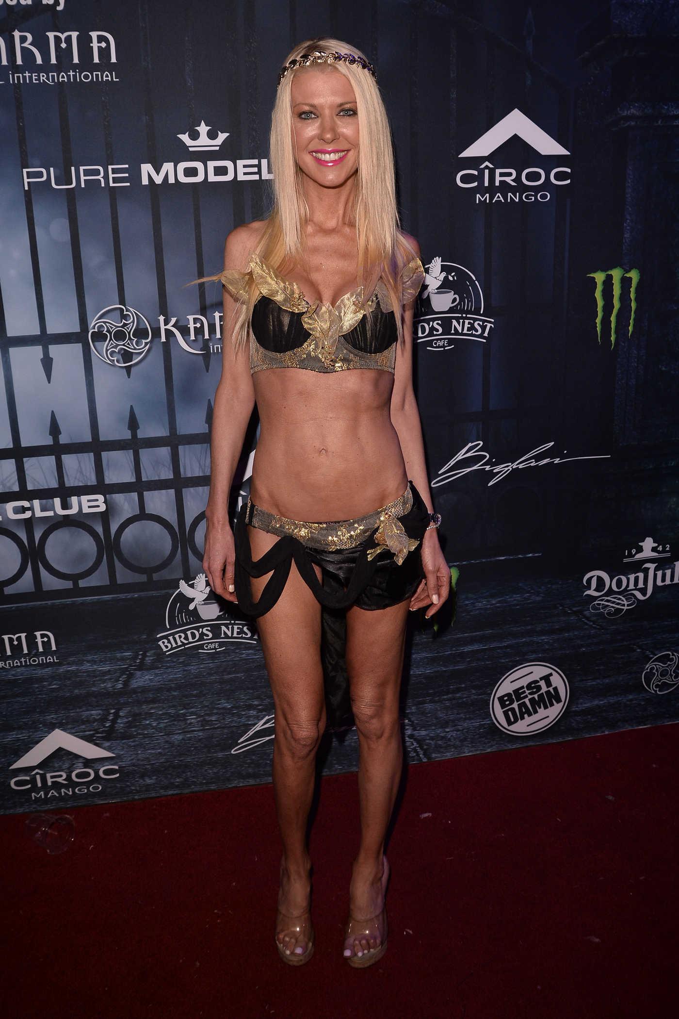 Tara Reid at the Maxim Halloween Party in Los Angeles 10/22/2016