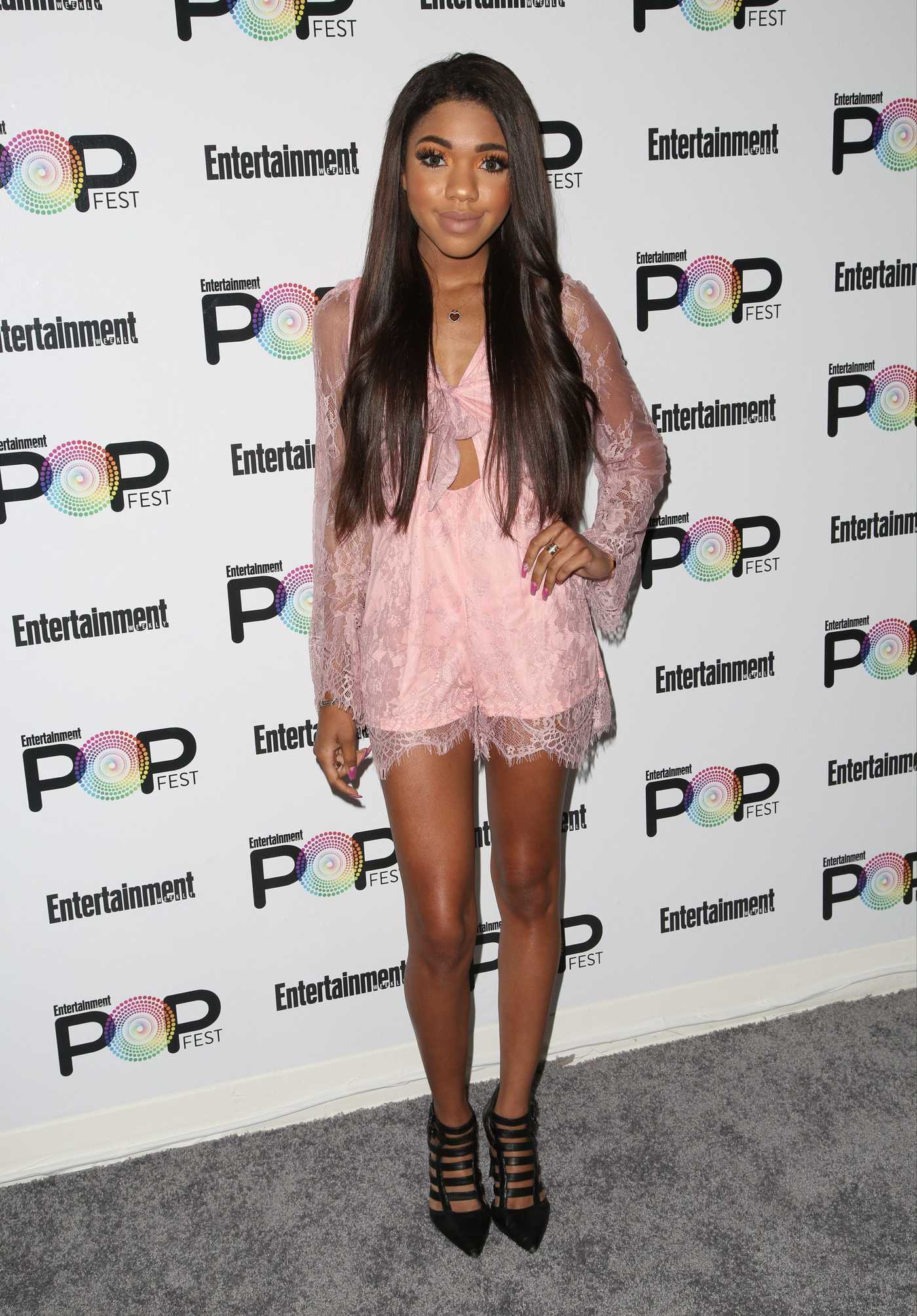 Teala Dunn at Entertainment Weekly's PopFest in Los Angeles 10/29/2016