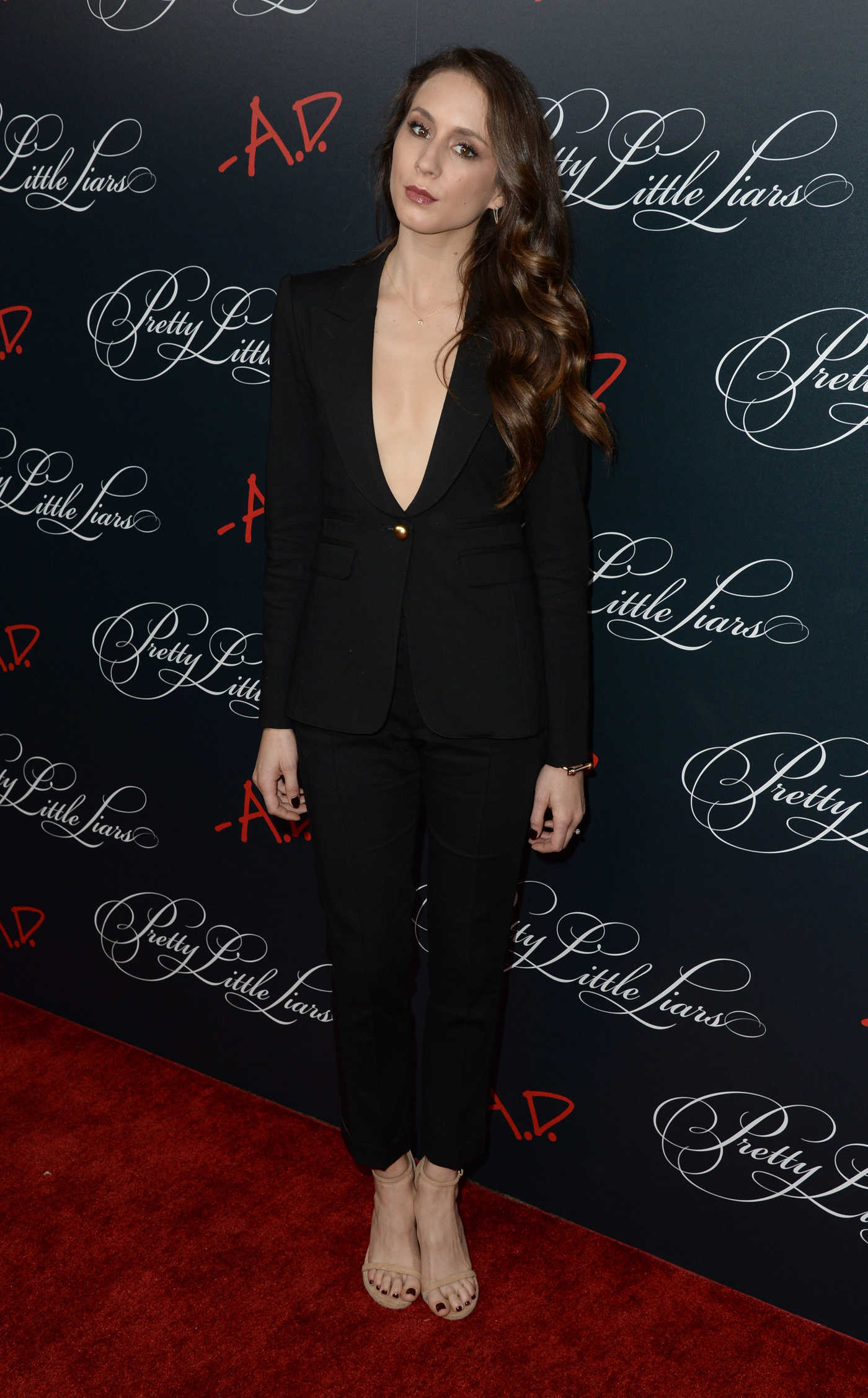 Troian Bellisario Celebrates Final Season of Pretty Little Liars at Siren Studios in Hollywood 10/29/2016
