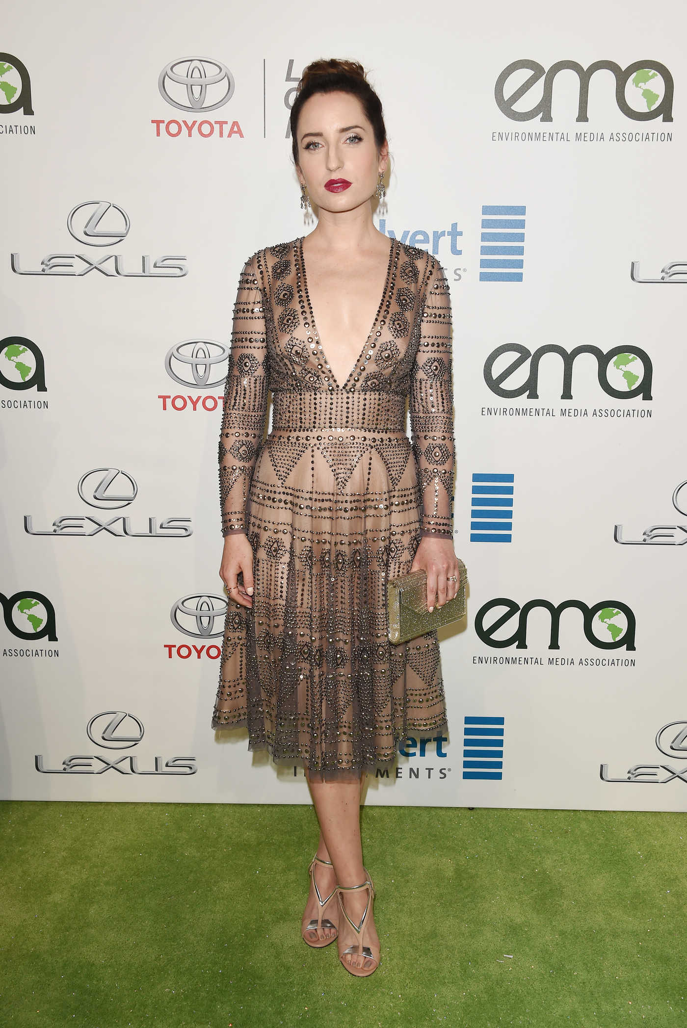 Zoe Lister Jones at the 26th Annual EMA Awards in Burbank 10/22/2016