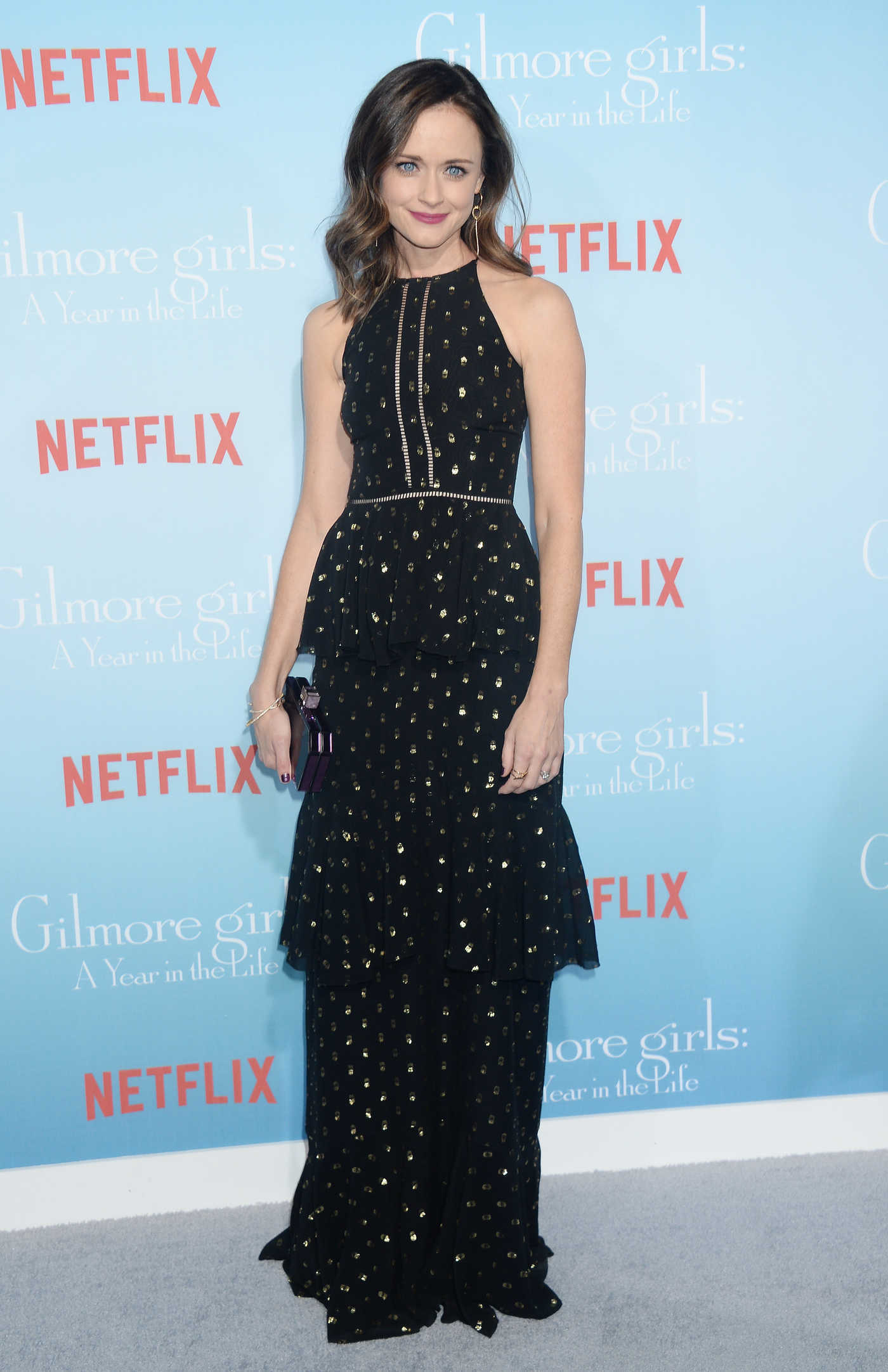Alexis Bledel at the Gilmore Girls: A Year in the Life TV Series Premiere in Los Angeles 11/18/2016