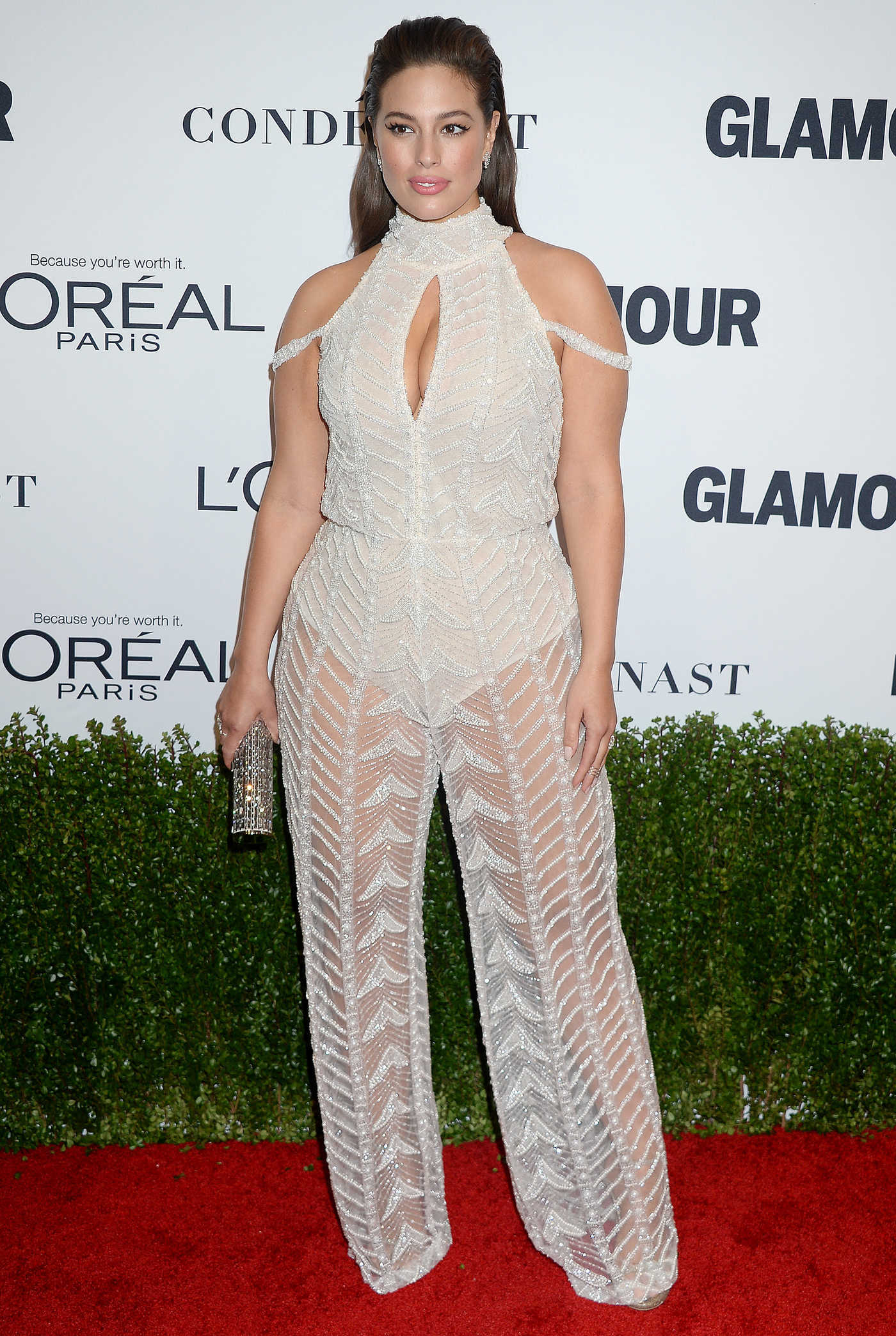 Ashley Graham at the Glamour Women of The Year Awards in Los Angeles 11/14/2016