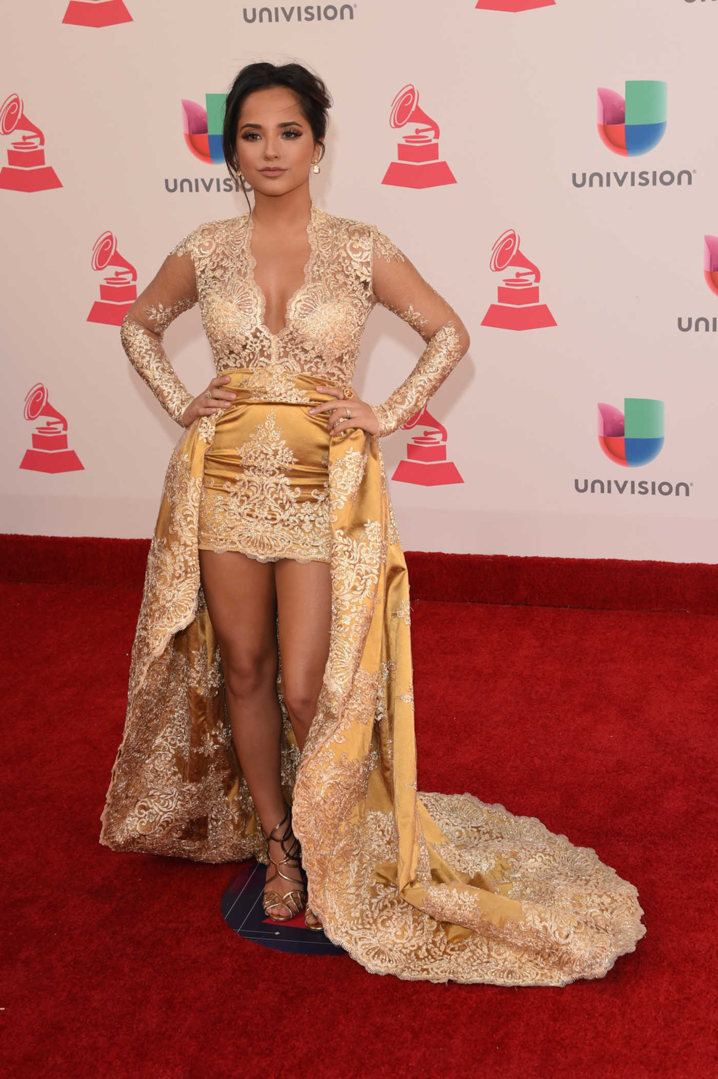 Becky G at 17th Annual Latin Grammy Awards at T-Mobile Arena in Las Vegas 11/17/2016