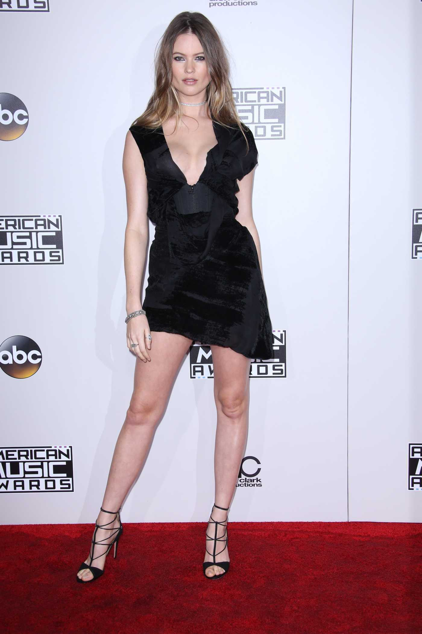 Behati Prinsloo at the 2016 American Music Awards at the Microsoft Theater in Los Angeles 11/20/2016