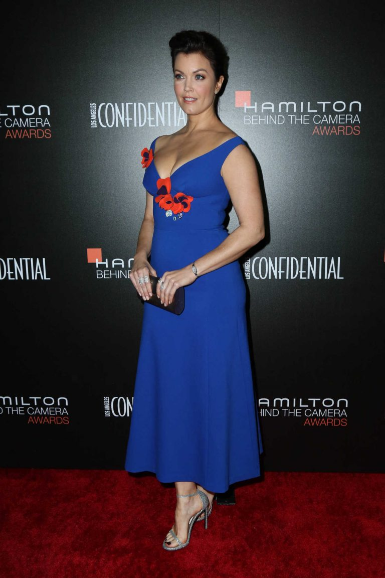 Bellamy Young at the 9th Hamilton Behind the Camera Awards in Los Angeles 11/06/2016-1