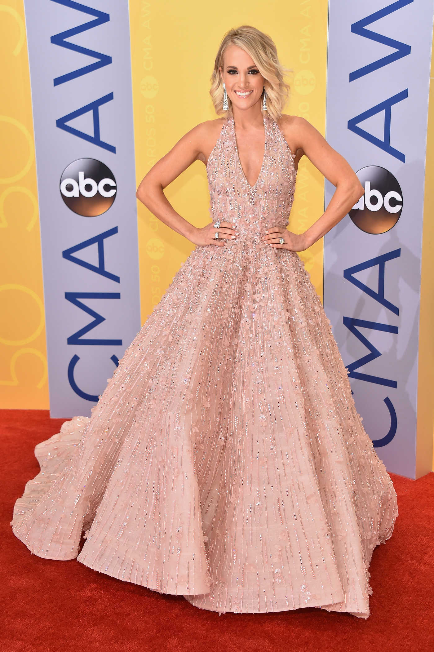 Carrie Underwood at the 50th Annual CMA Awards at Music City Center in Nashville 11/02/2016