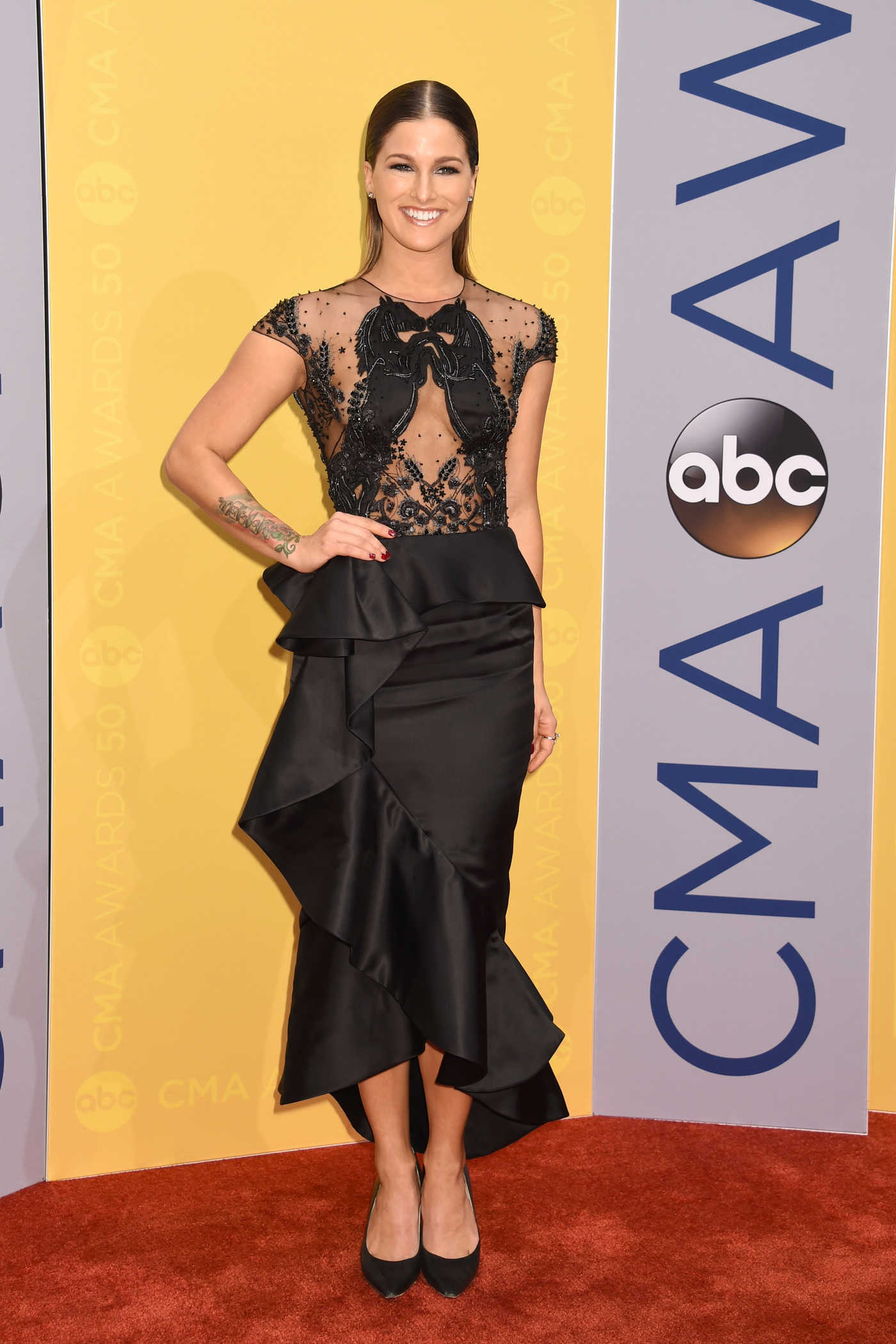 Cassadee Pope at the 50th Annual CMA Awards at Music City Center in Nashville 11/02/2016