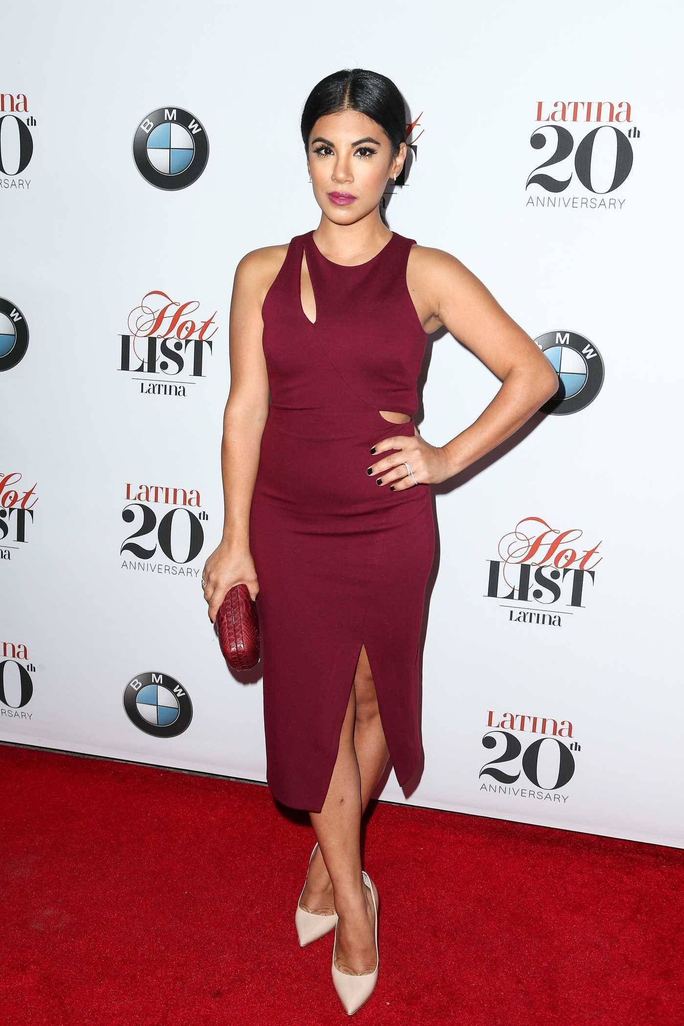 Chrissie Fit at the Latina Magazine 20th Anniversary Hollywood Hot List Party in Los Angeles 11/02/2016