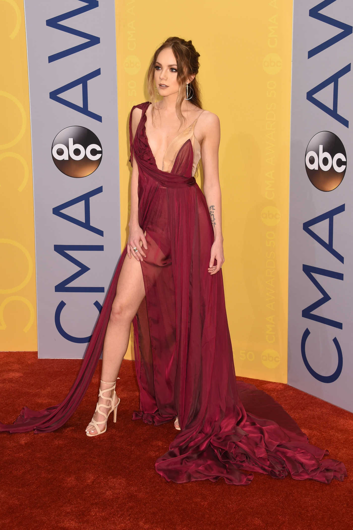 Danielle Bradbery at the 50th Annual CMA Awards at Music City Center in Nashville 11/02/2016