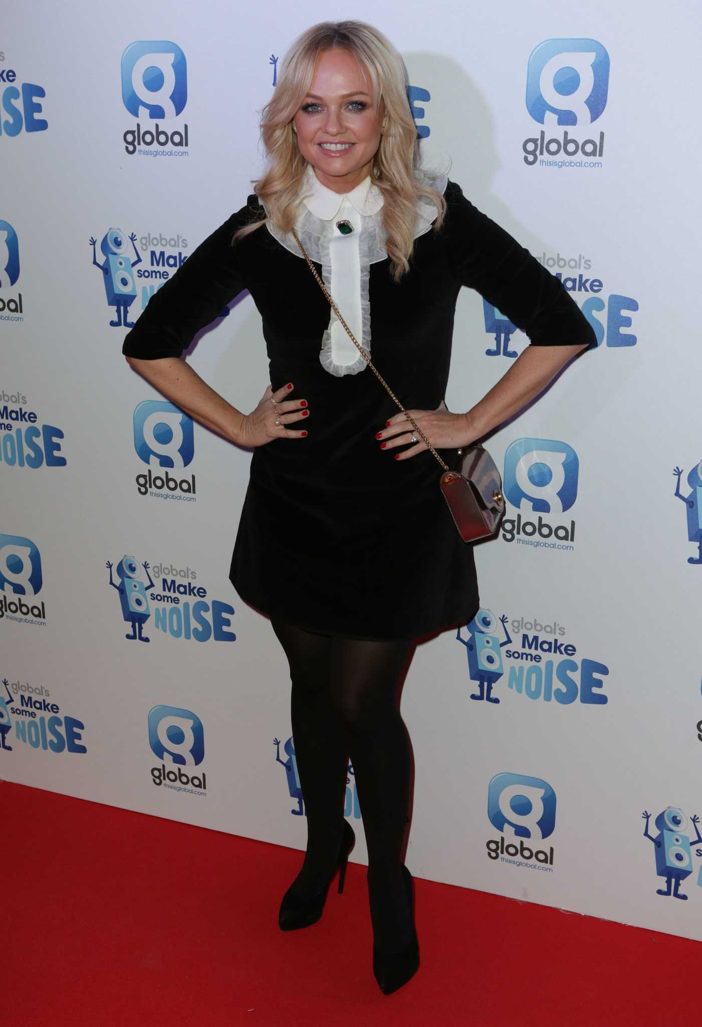 Emma Bunton at the Global's Make Some Noise Night Gala in London 11/24/2016