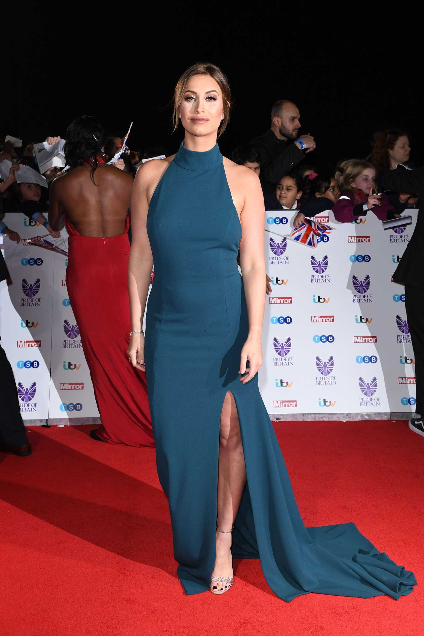 Ferne McCann at the Pride of Britain Awards at the Grosvenor House in London 10/31/2016