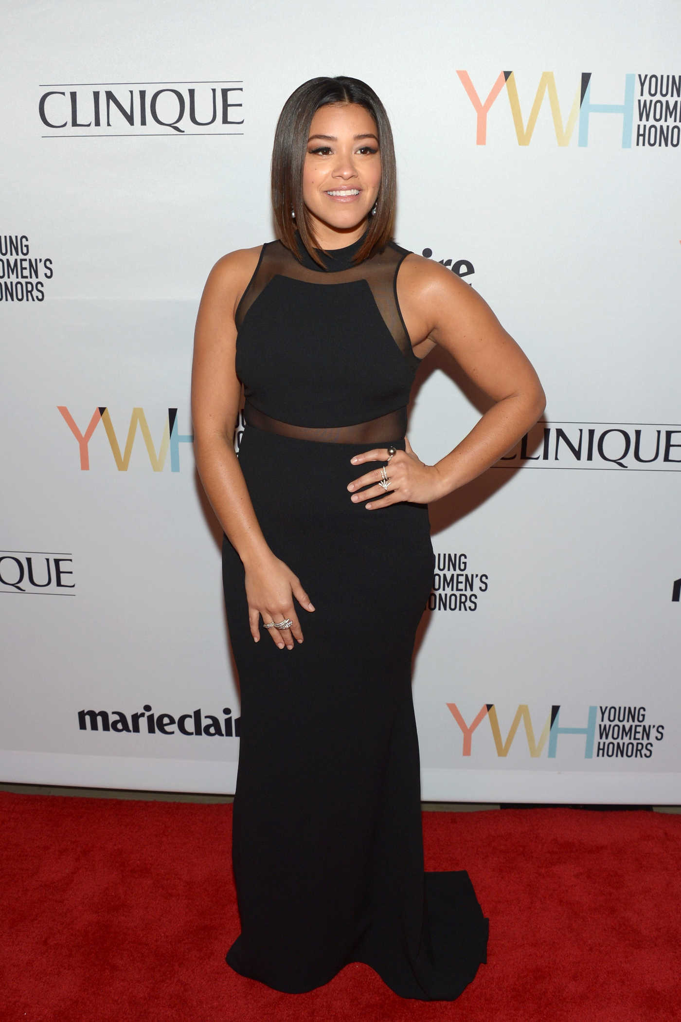 Gina Rodriguez at the 1st Annual Marie Claire Young Women's Honors in Marina Del Rey 11/19/2016