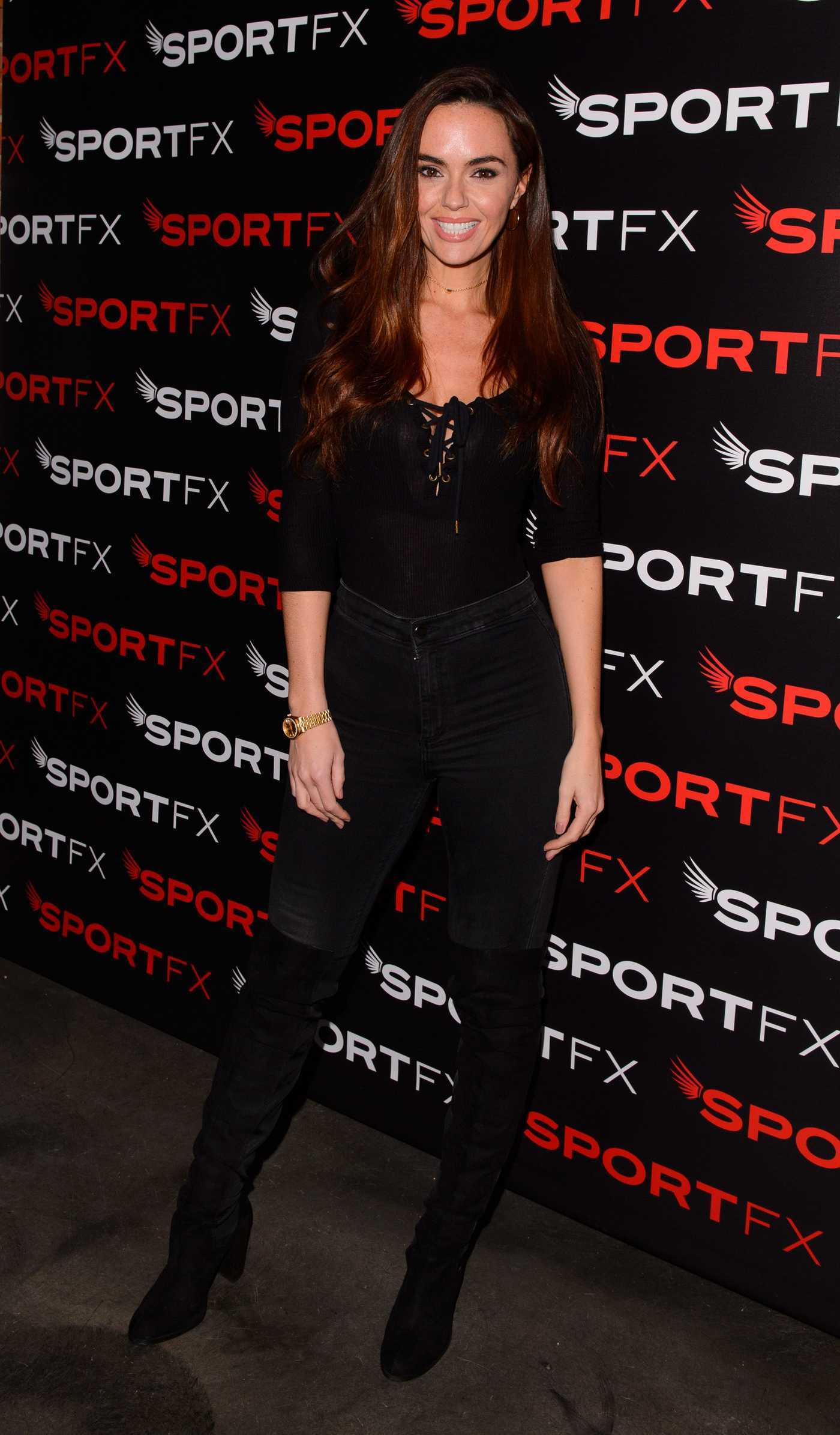 Jennifer Metcalfe at the SPORTFX Cosmetic and Sports Launch Party in London 11/10/2016