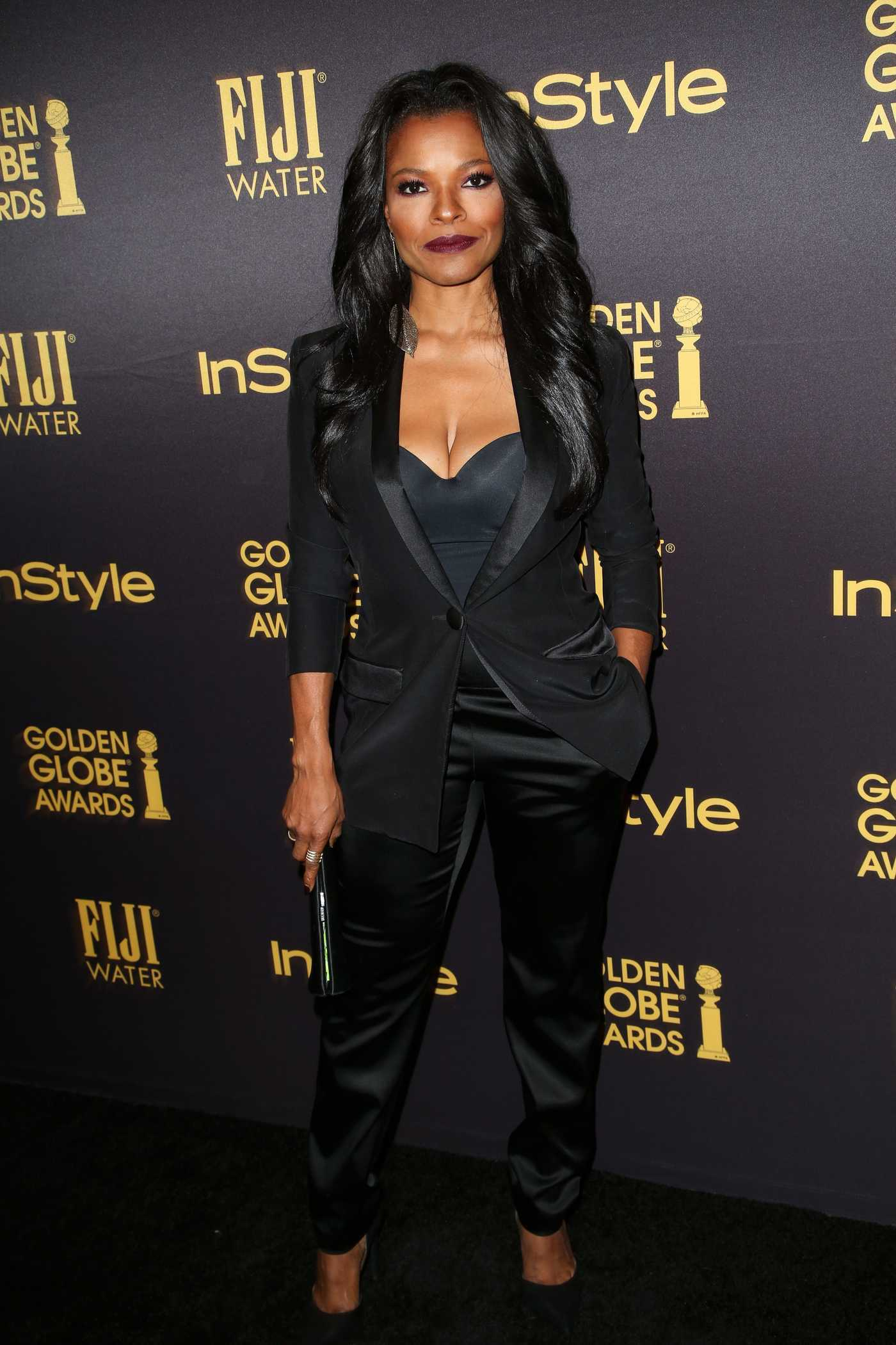 Keesha Sharp at the HFPA and InStyles Celebration of the 2017 Golden Globe Awards Season in West Hollywood 11/10/2016