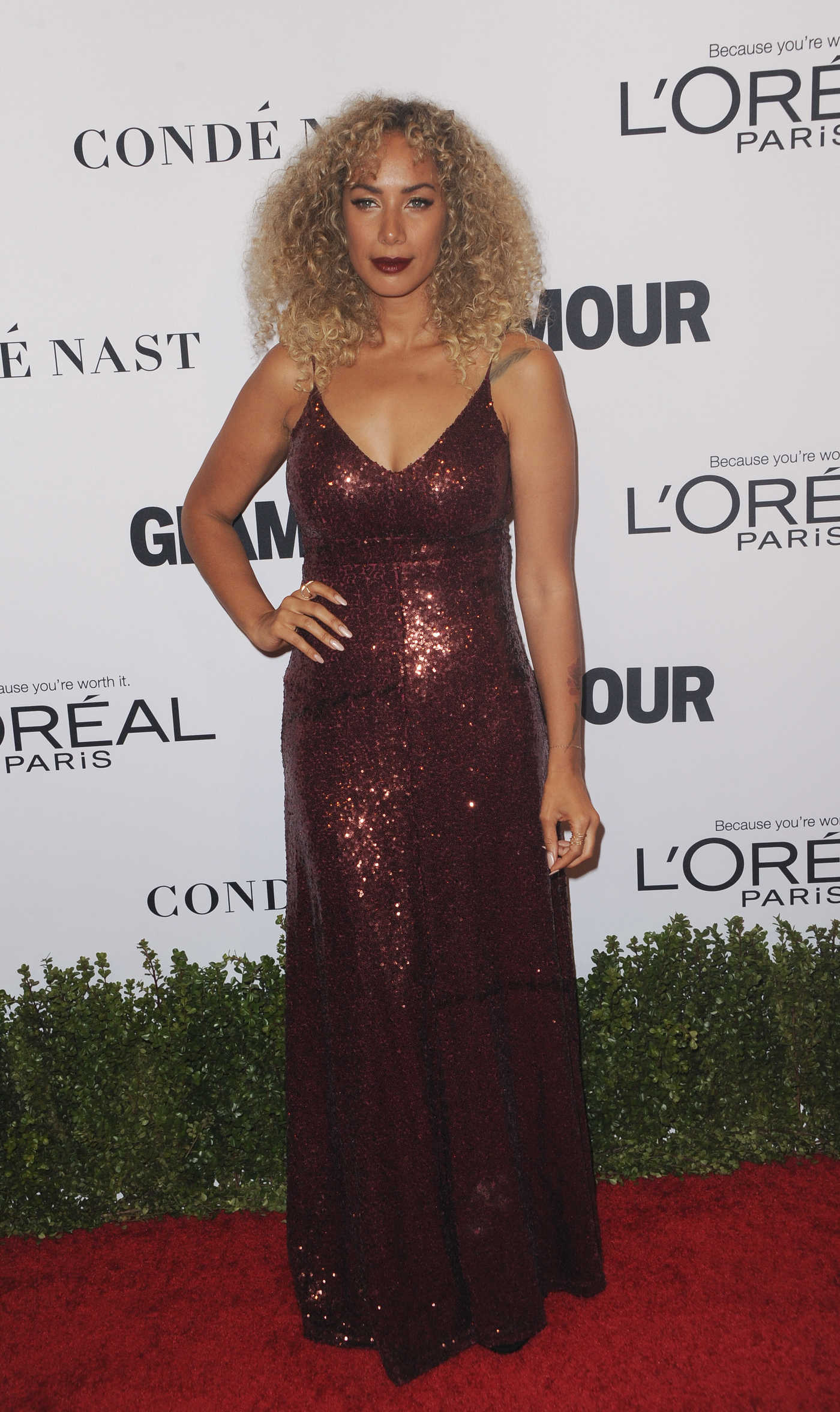 Leona Lewis at the Glamour Women of The Year Awards in Los Angeles 11/14/2016