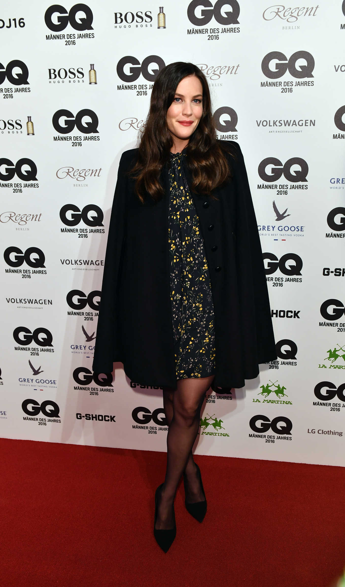 Liv Tyler at the GQ Men of the Year Awards in Berlin 11/10/2016