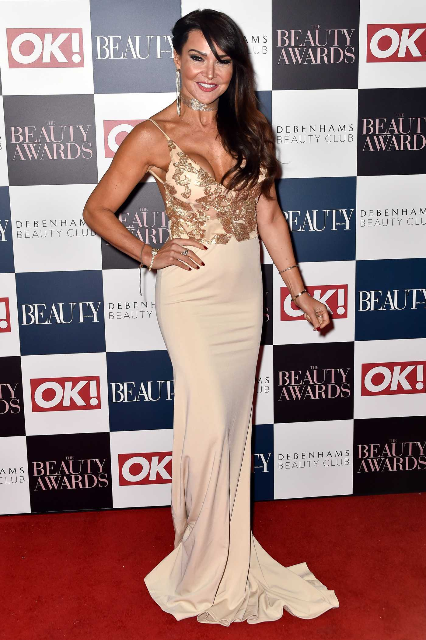 Lizzie Cundy at the Beauty Awards in London 11/24/2016