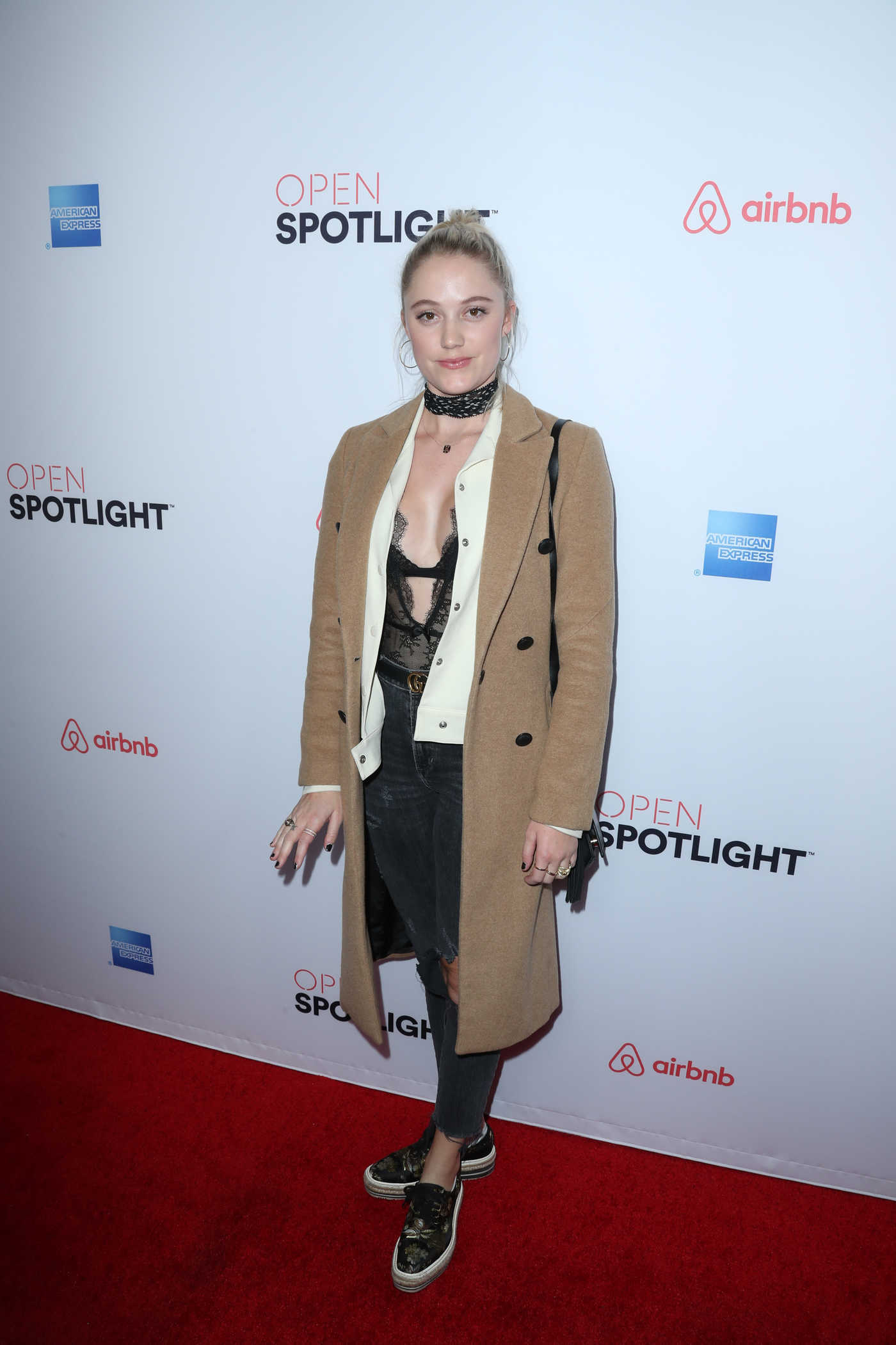 Maika Monroe at Airbnb Open Spotlight in Los Angeles 11/19/2016