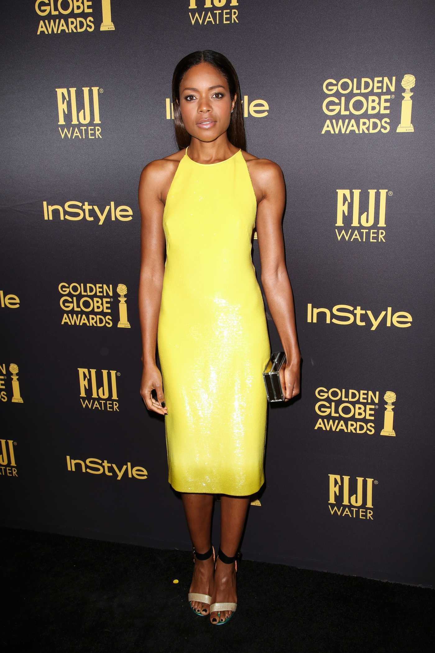 Naomie Harris at the HFPA and InStyles Celebration of the 2017 Golden Globe Awards Season in West Hollywood 11/10/2016