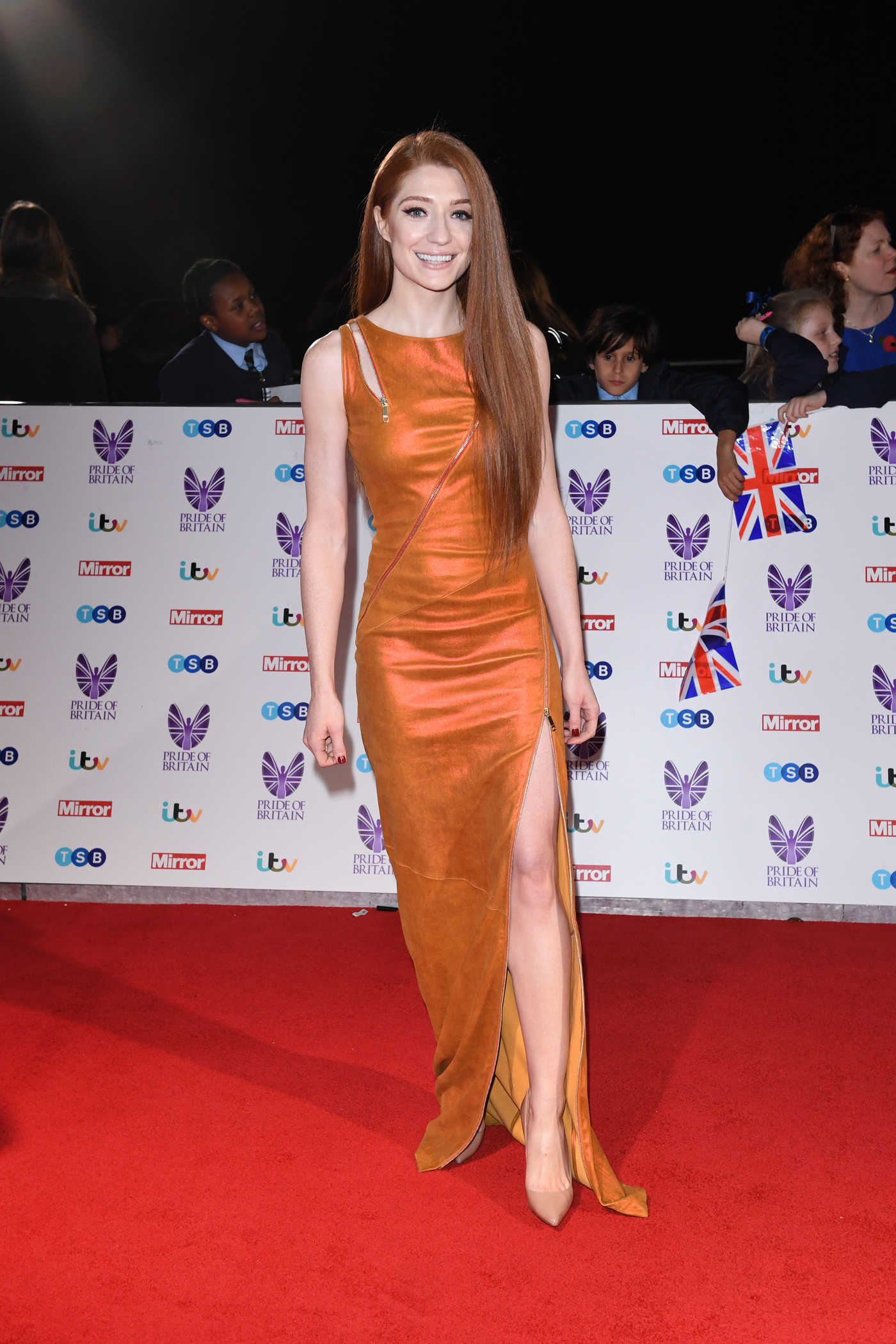 Nicola Roberts at the Pride of Britain Awards at the Grosvenor House in London 10/31/2016