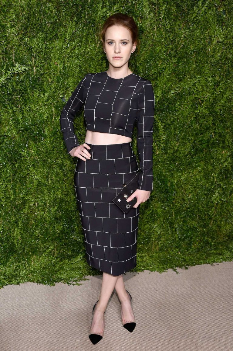 Rachel Brosnahan at the 13th Annual CFDA/Vogue Fashion Fund Awards in New York City 11/07/2016-1