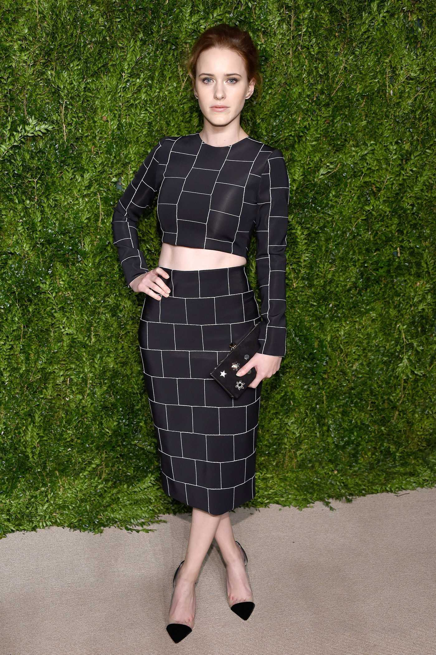 Rachel Brosnahan at the 13th Annual CFDA/Vogue Fashion Fund Awards in New York City 11/07/2016