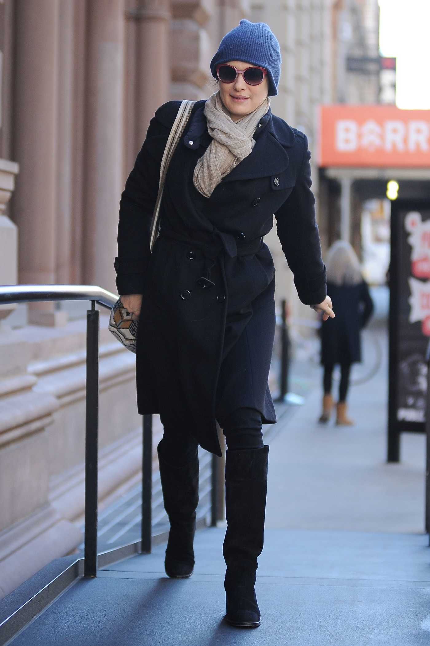 Rachel Weisz Was Seen Out in New York 11/23/2016