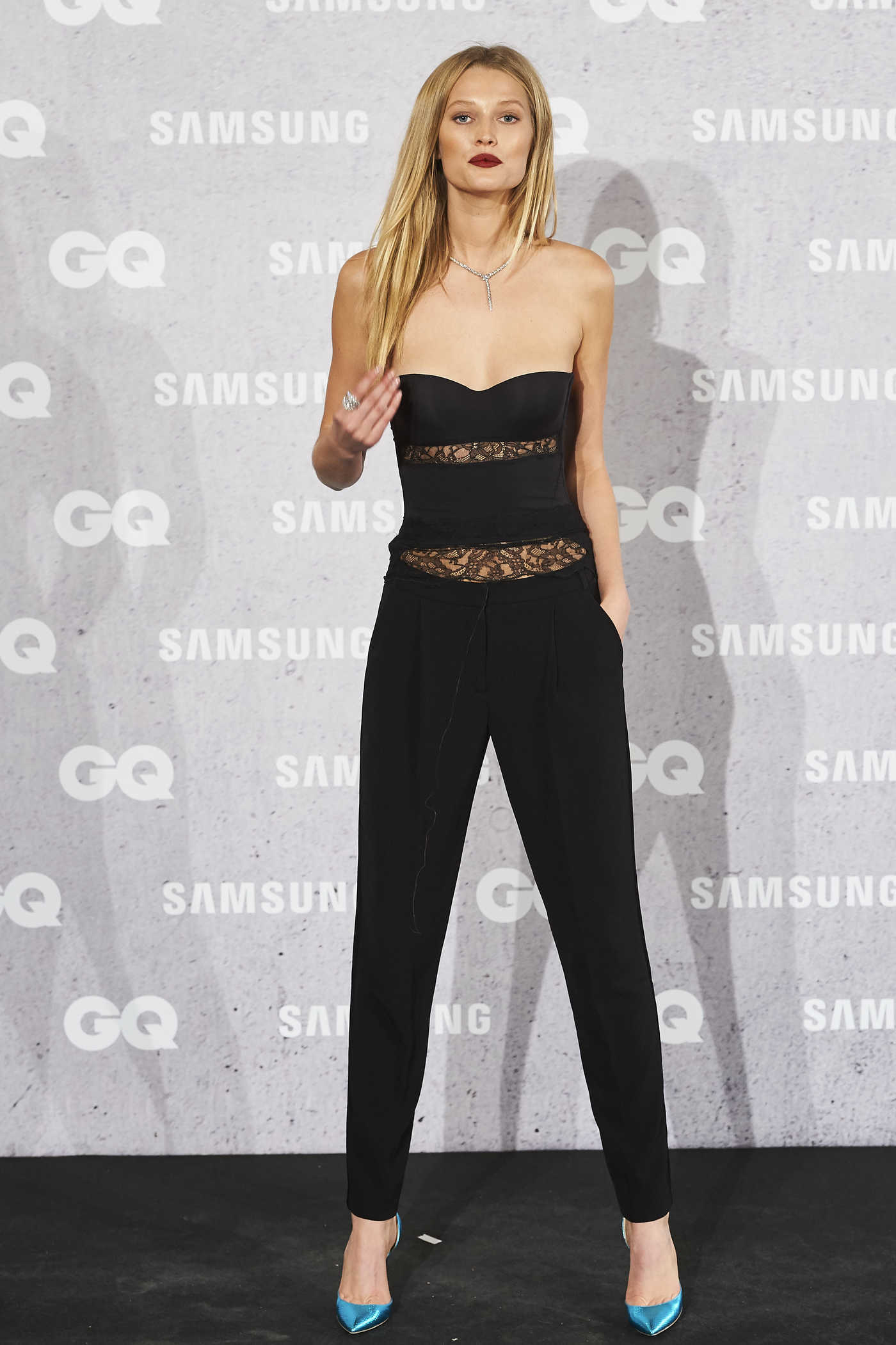 Toni Garrn at the GQ Men of the Year Awards in Madrid 11/03/2016