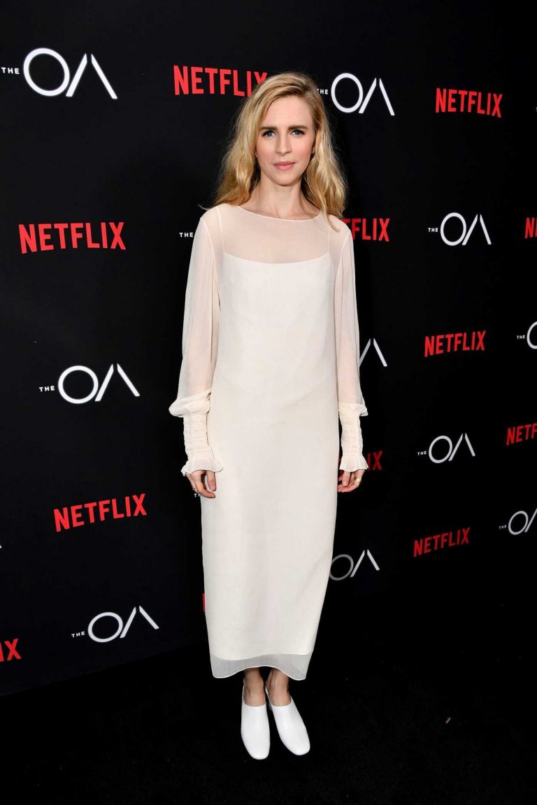 Brit Marling at The OA TV Series Screening in Los Angeles 12/15/2016-1