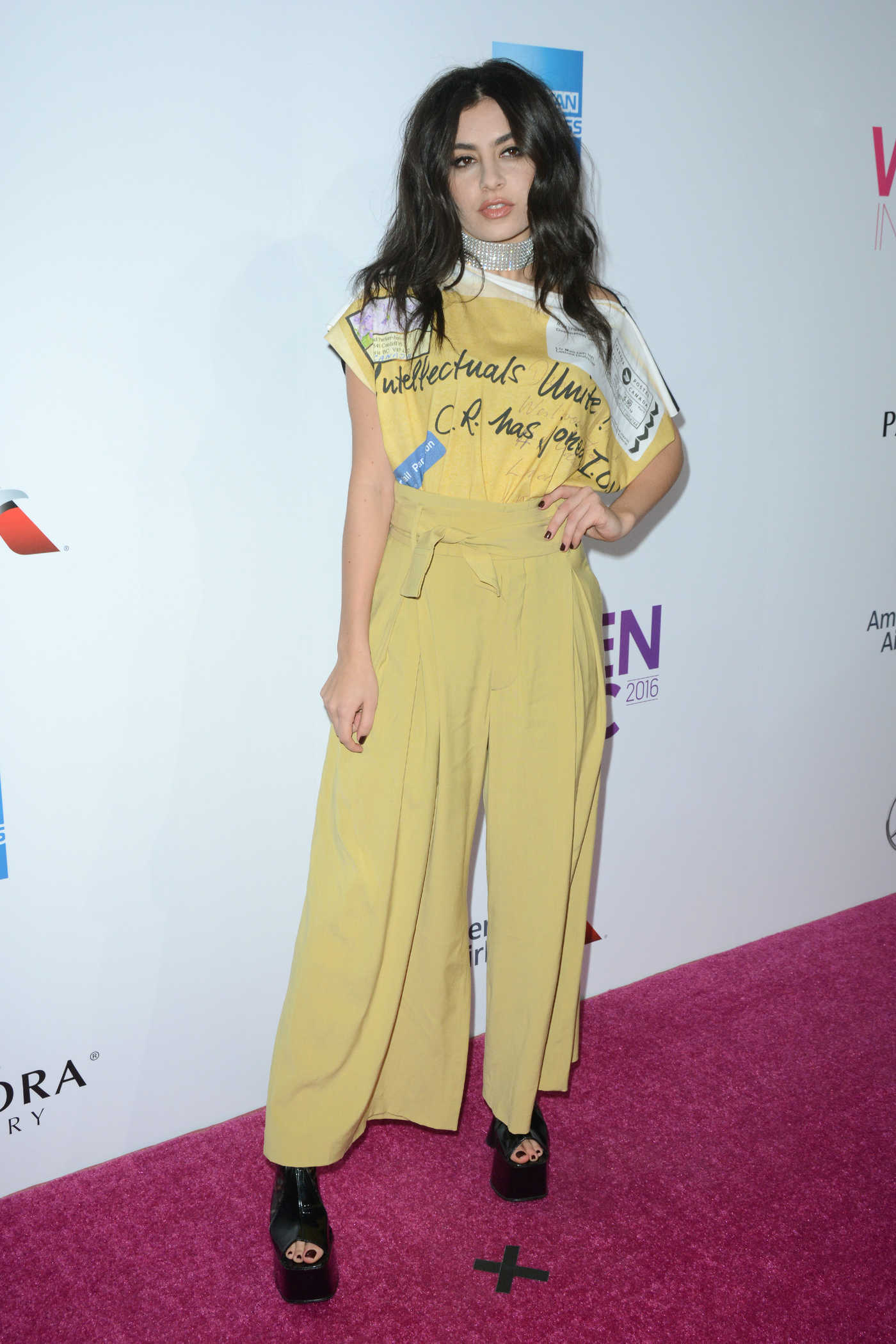 Charli XCX at the Billboard Women in Music 2016 Event at Pier 36 in NYC 12/09/2016