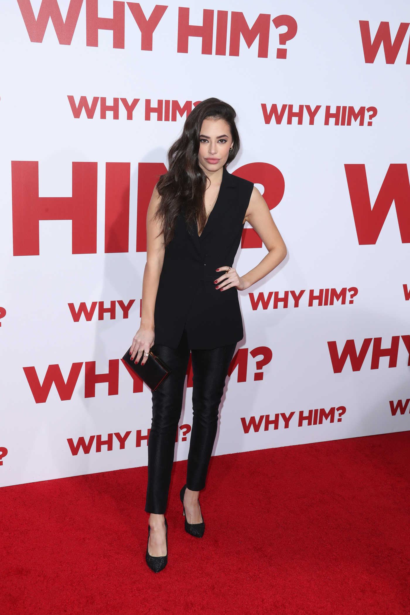 Chloe Bridges at the Why Him? Premiere at the Regency Bruin Theatre in Westwood 12/17/2016