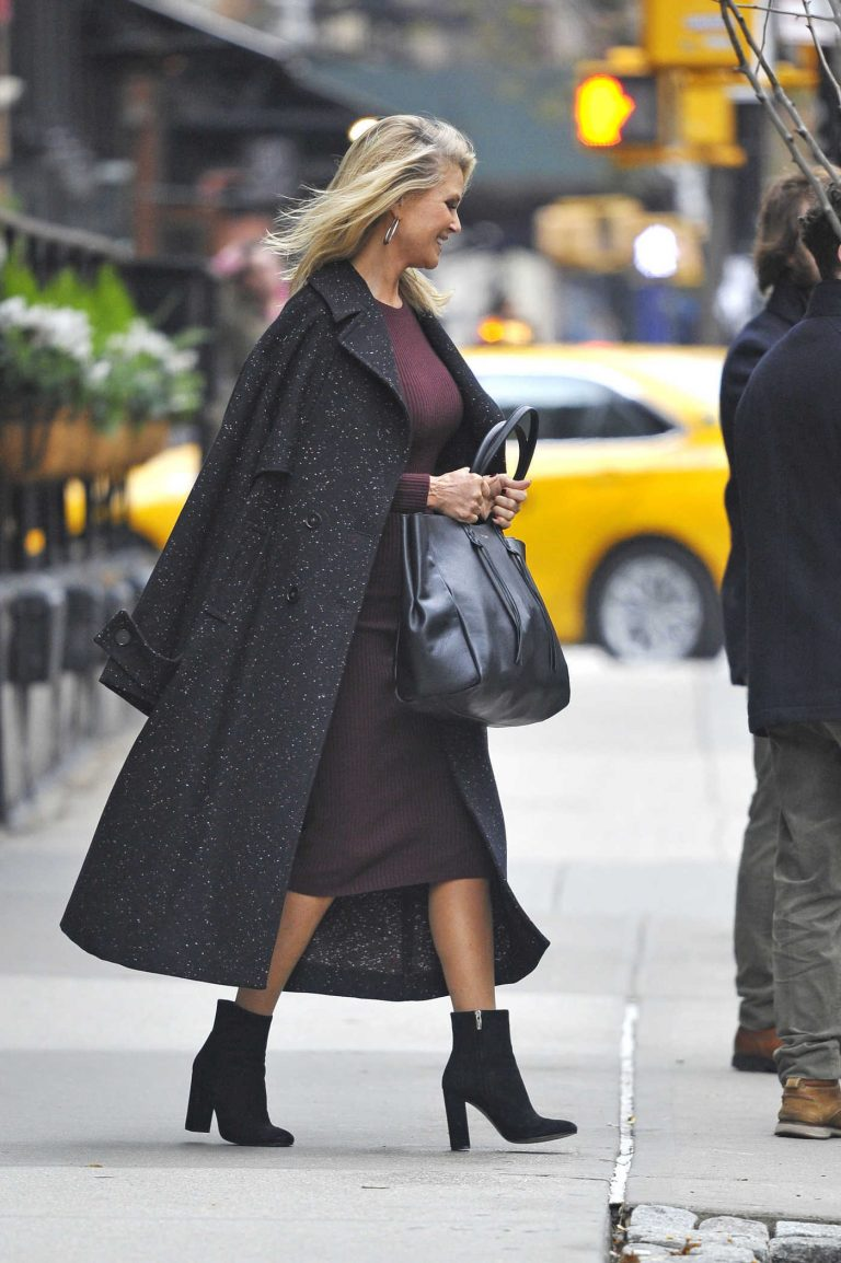Christie Brinkley Leaves the Greenwich Hotel in New York City 11/30/2016-1
