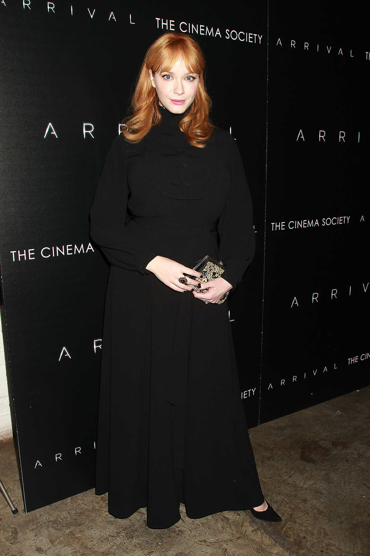 Christina Hendricks at the Special Screening and Reception in Celebration of ARRIVAL 11/29/2016